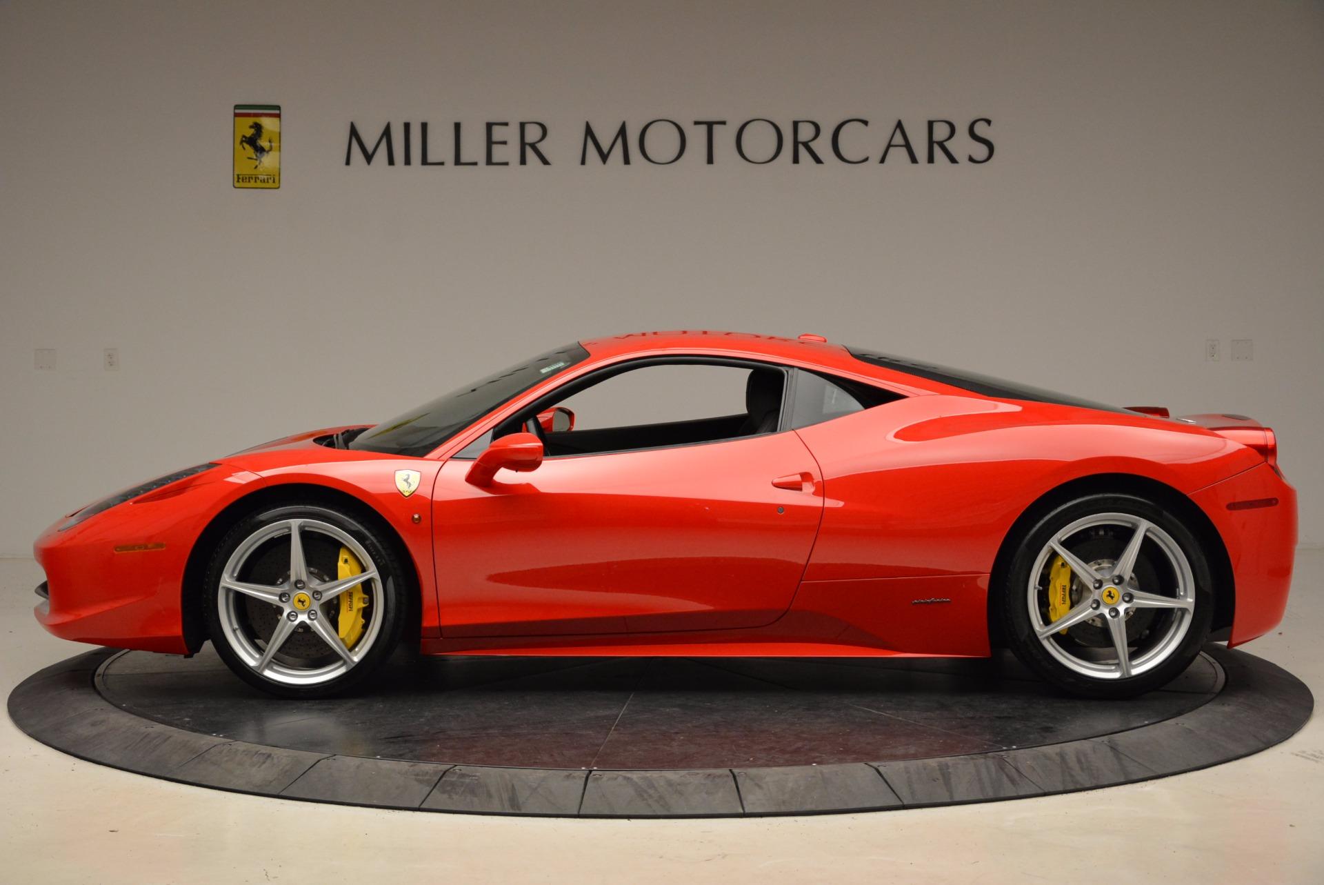 Used 2012 Ferrari 458 Italia  For Sale In Greenwich, CT 1833_p3