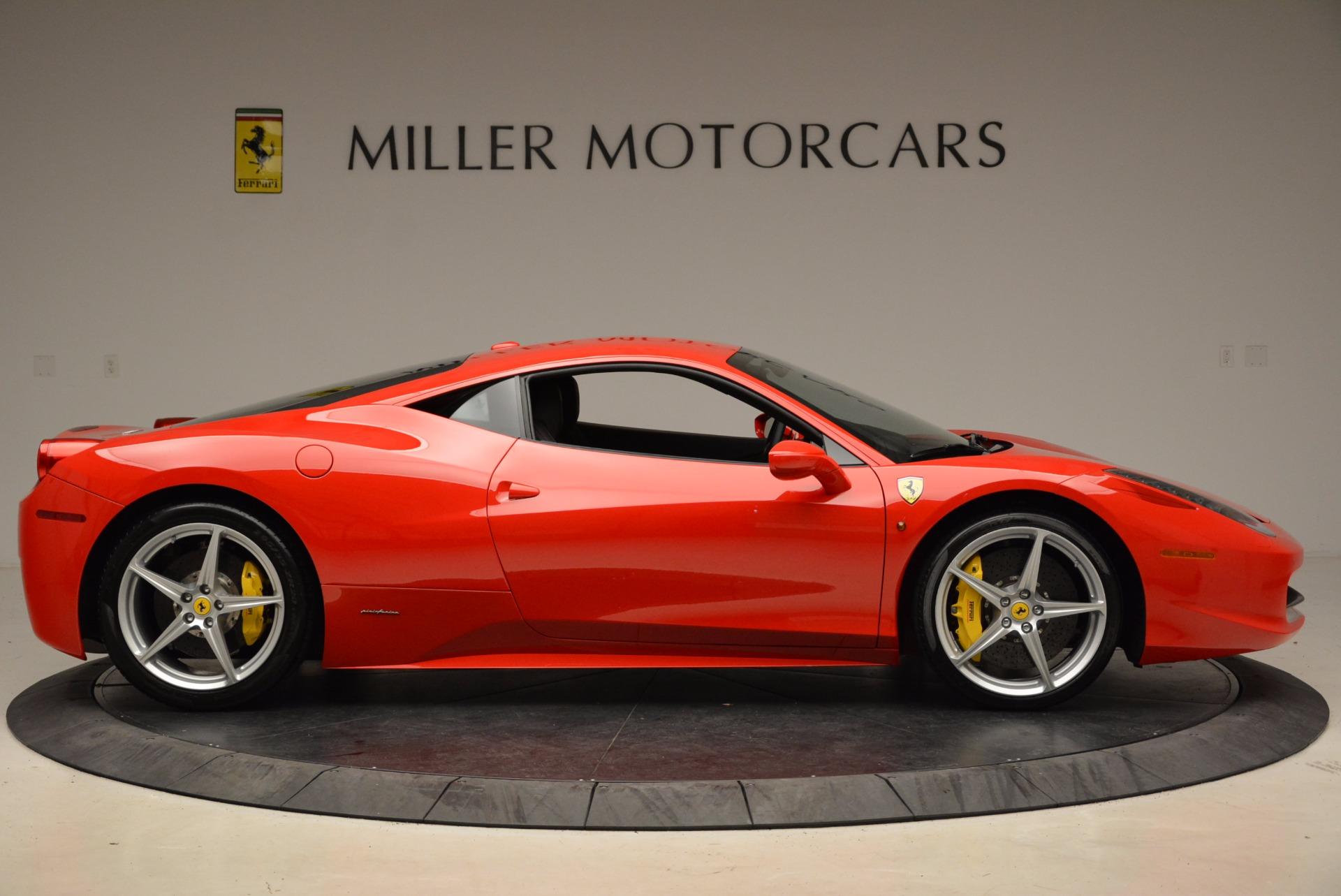 Used 2012 Ferrari 458 Italia  For Sale In Greenwich, CT 1833_p9