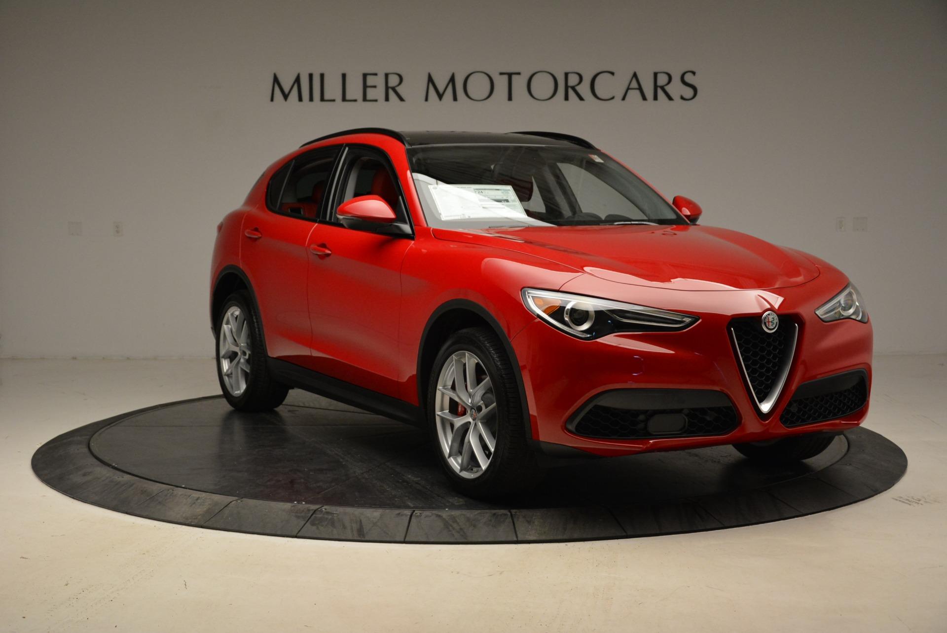 New 2018 Alfa Romeo Stelvio Sport Q4 For Sale In Greenwich, CT 1834_p11