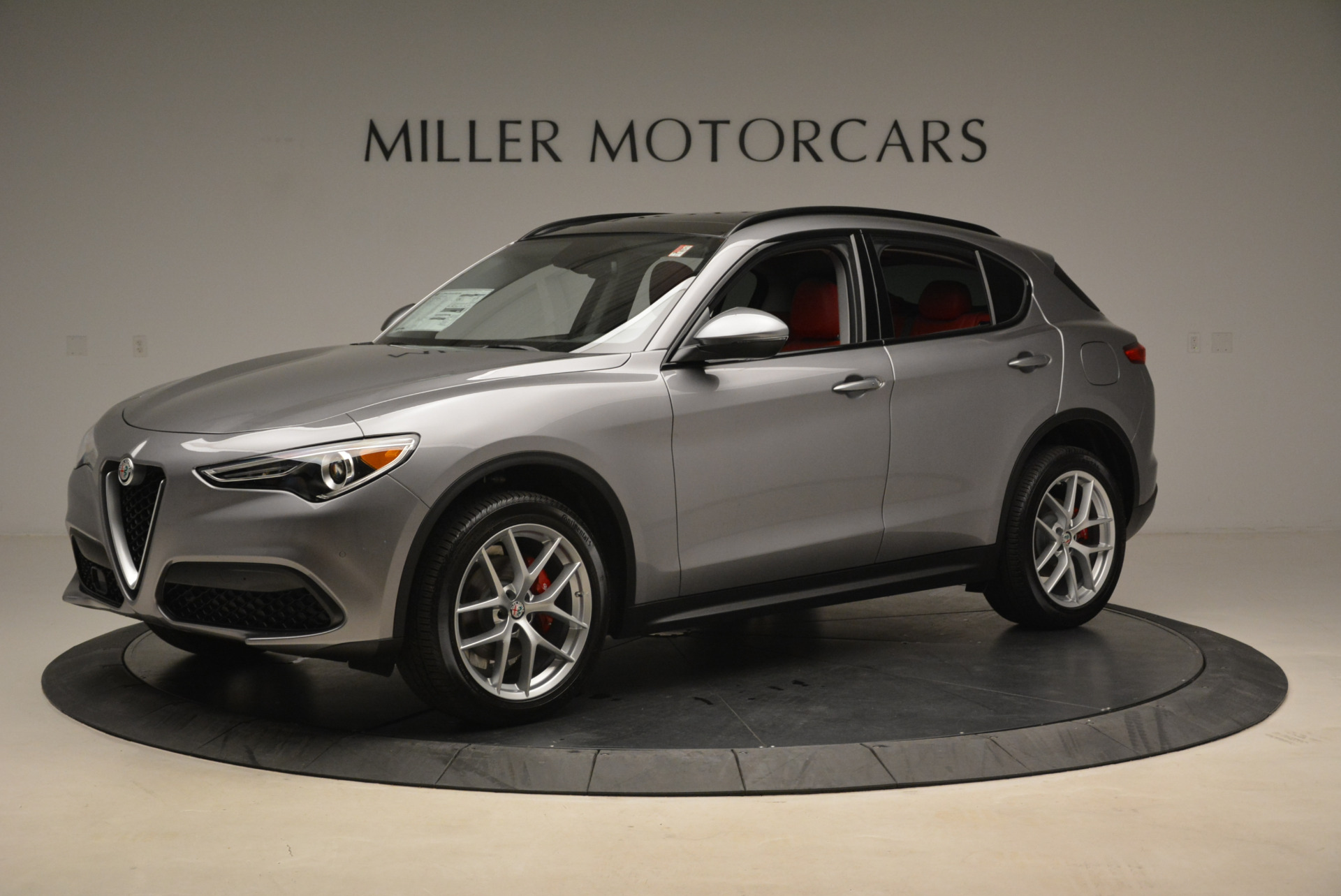New 2018 Alfa Romeo Stelvio Sport Q4 For Sale In Greenwich, CT 1836_p2