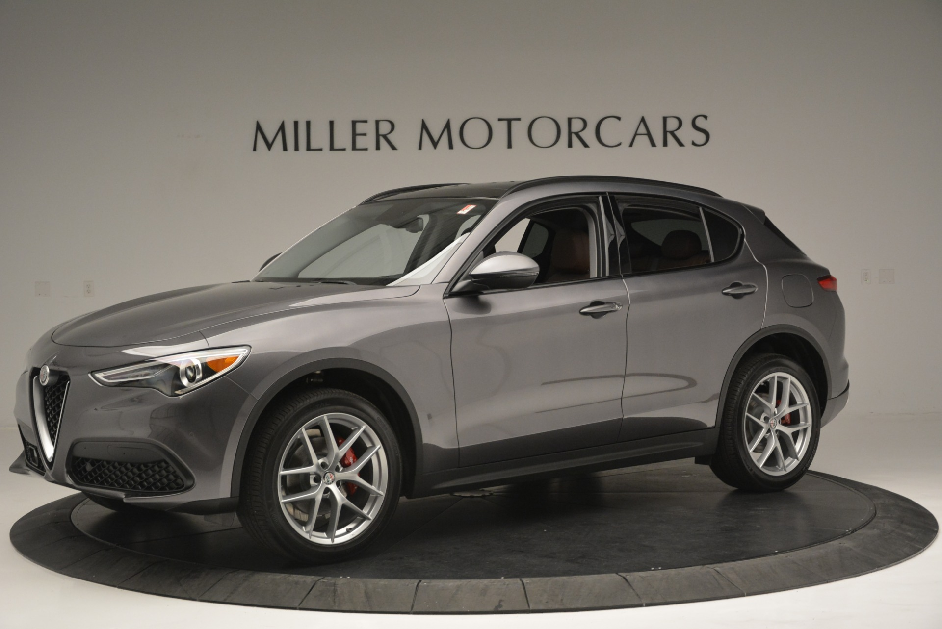 New 2018 Alfa Romeo Stelvio Sport Q4 For Sale In Greenwich, CT 1837_p2