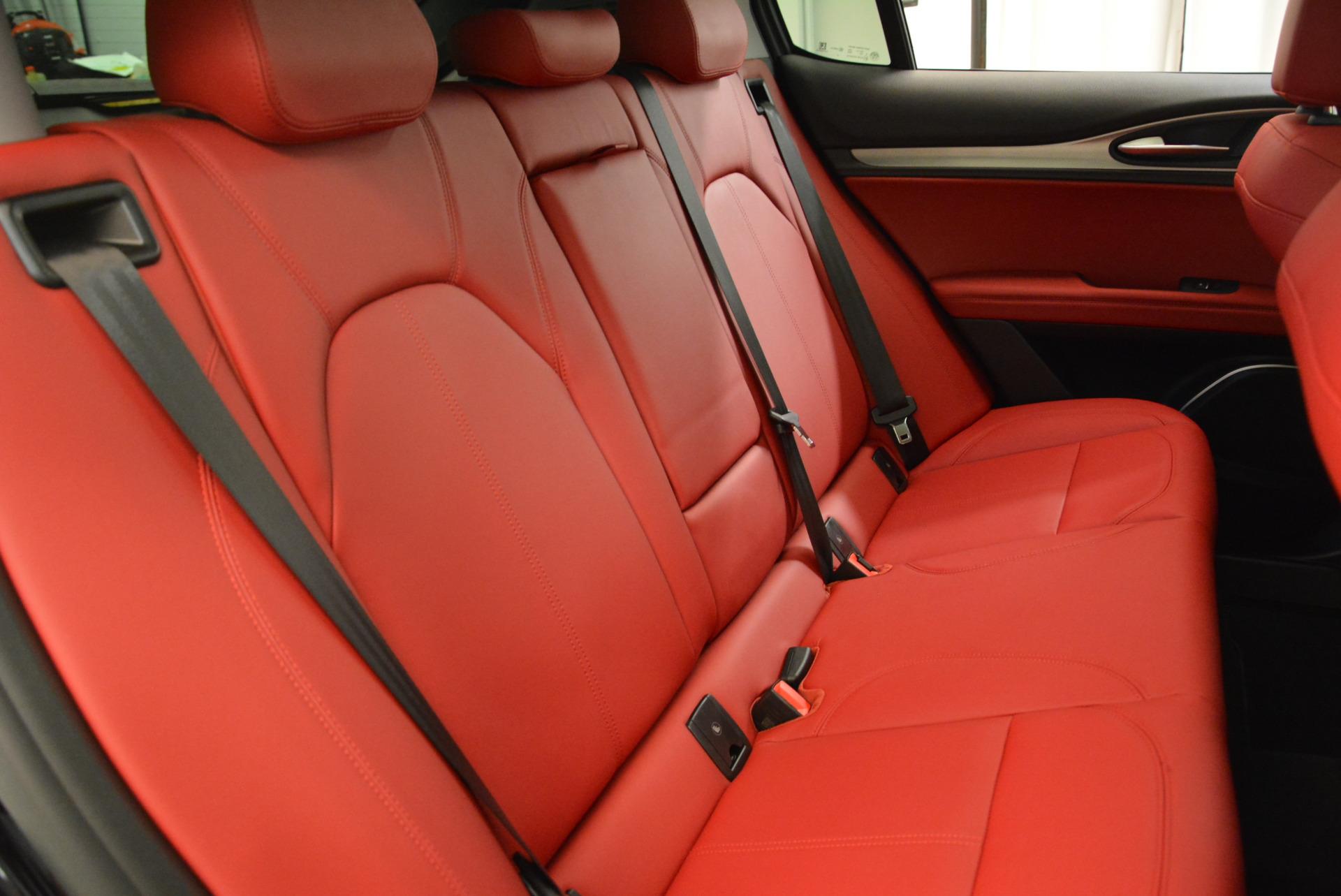 New 2018 Alfa Romeo Stelvio Sport Q4 For Sale In Greenwich, CT 1838_p24