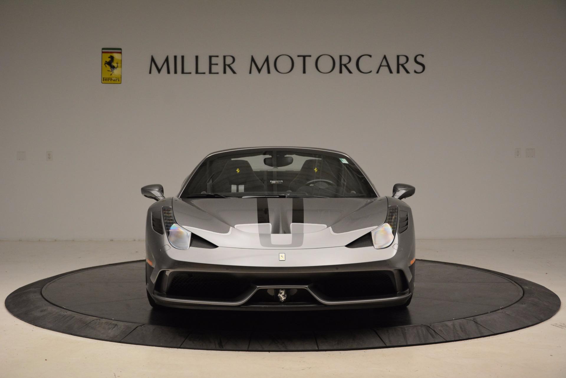 Used 2015 Ferrari 458 Speciale Aperta  For Sale In Greenwich, CT 1847_p12