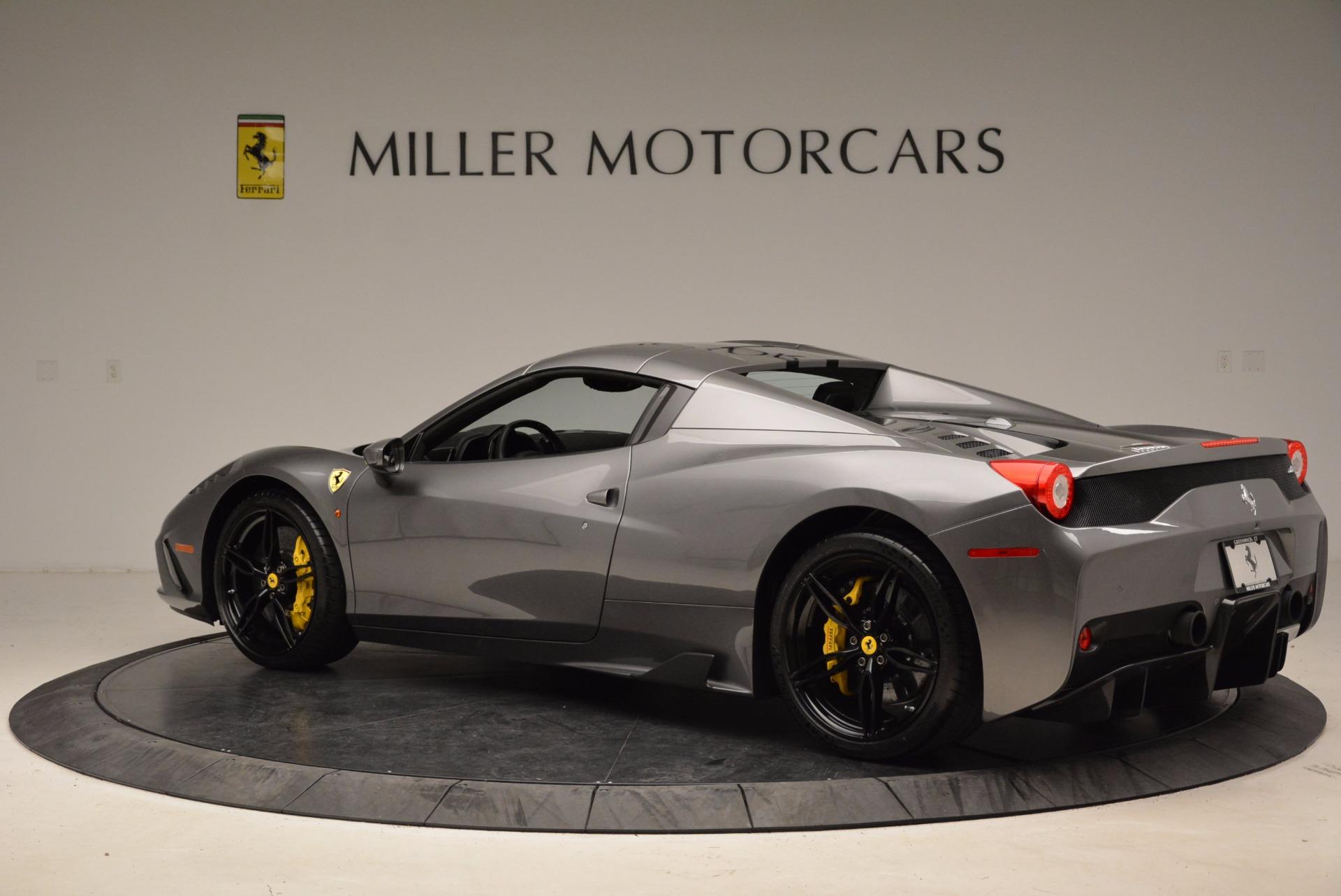 Used 2015 Ferrari 458 Speciale Aperta  For Sale In Greenwich, CT 1847_p16