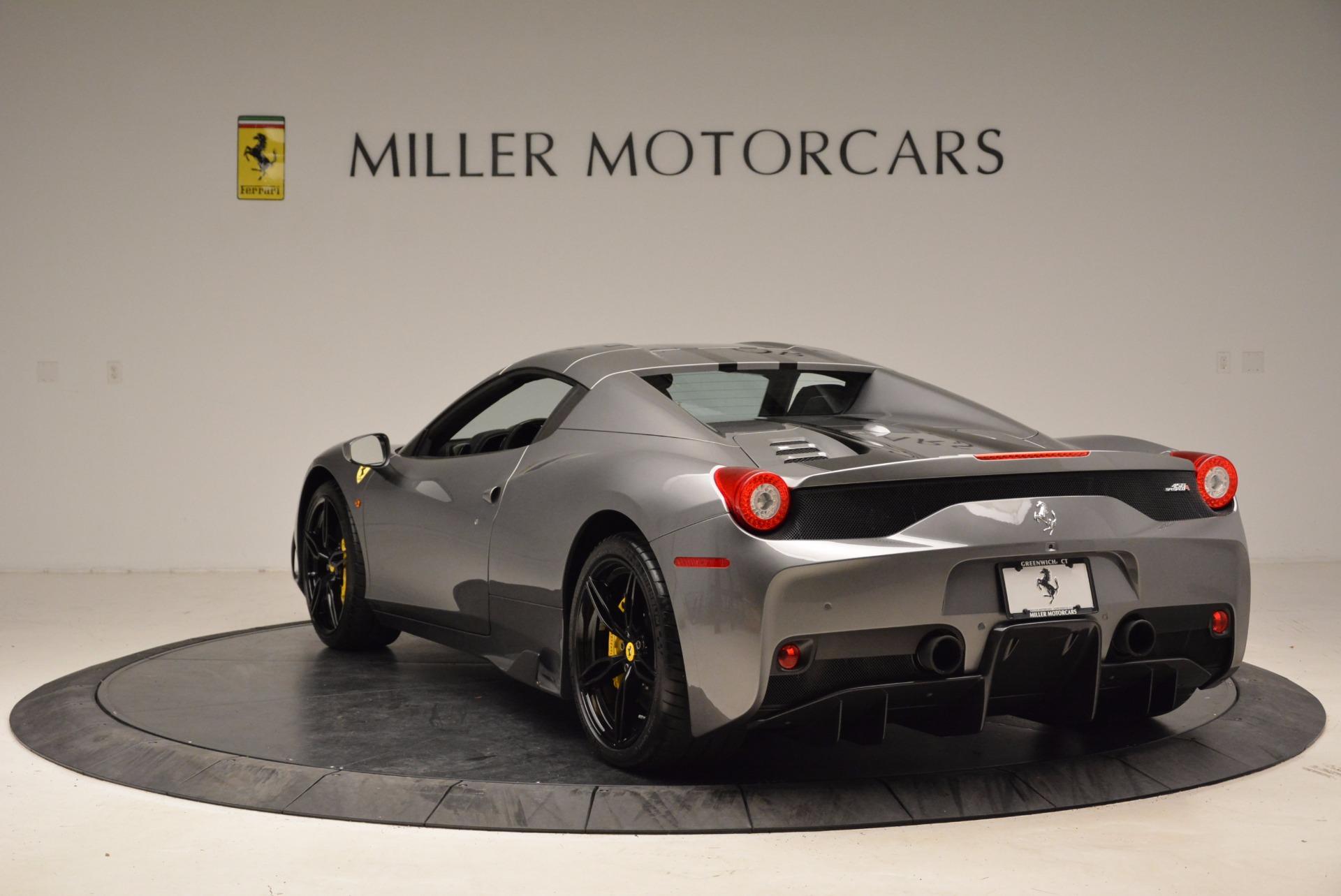 Used 2015 Ferrari 458 Speciale Aperta  For Sale In Greenwich, CT 1847_p17
