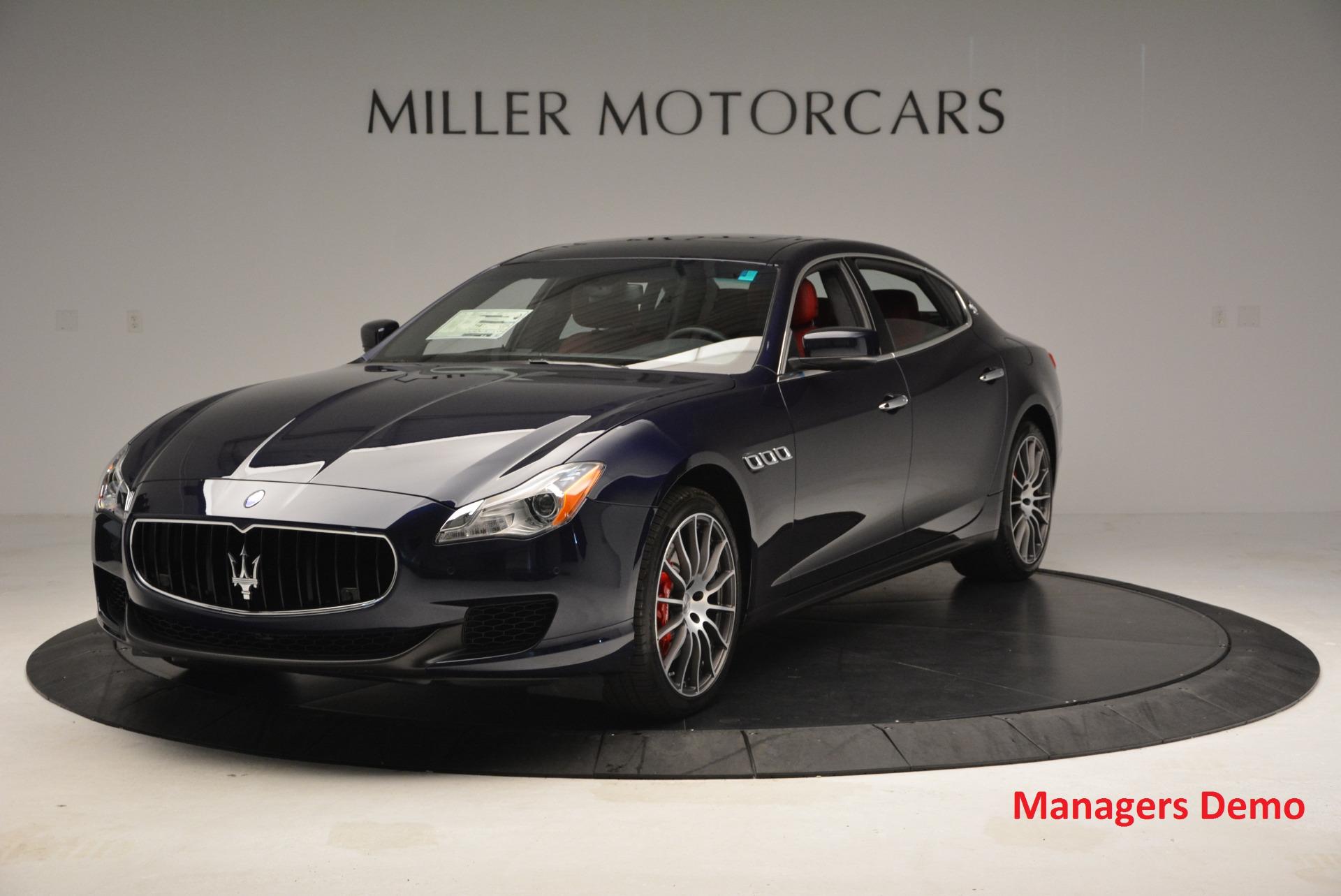 New 2016 Maserati Quattroporte S Q4  *******      DEALER'S  DEMO For Sale In Greenwich, CT 185_main