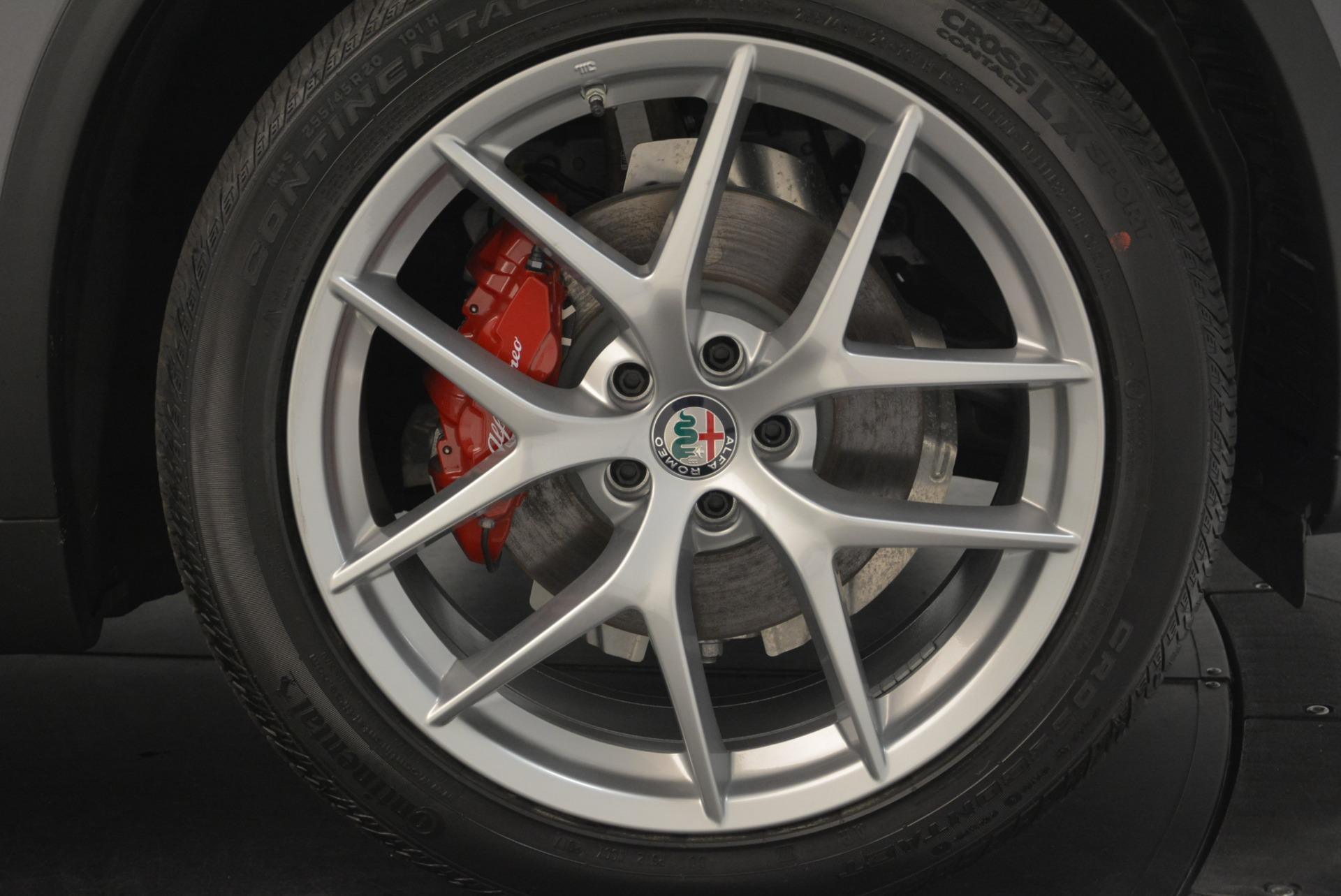 New 2018 Alfa Romeo Stelvio Ti Sport Q4 For Sale In Greenwich, CT 1850_p25