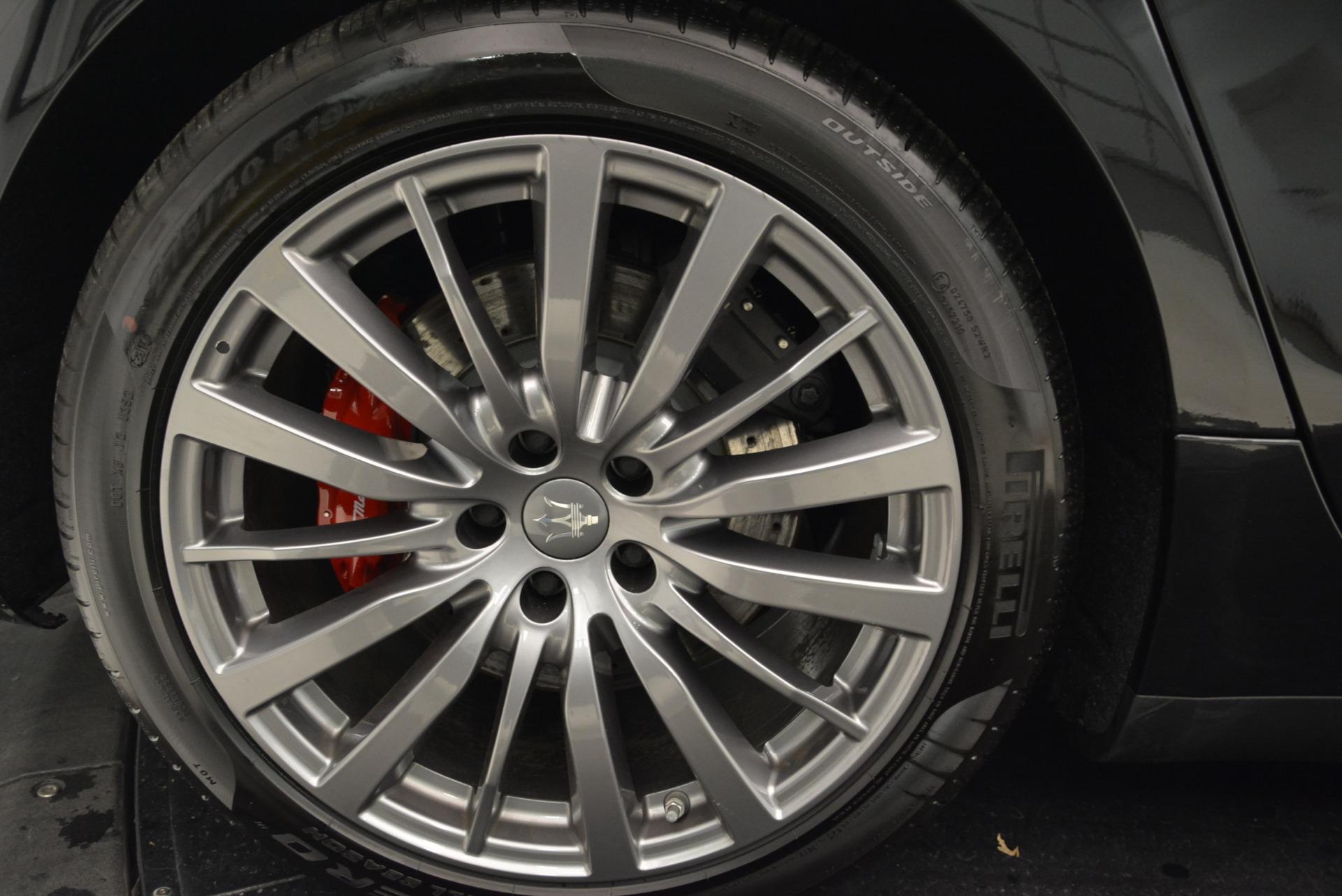New 2018 Maserati Ghibli S Q4 For Sale In Greenwich, CT 1856_p26