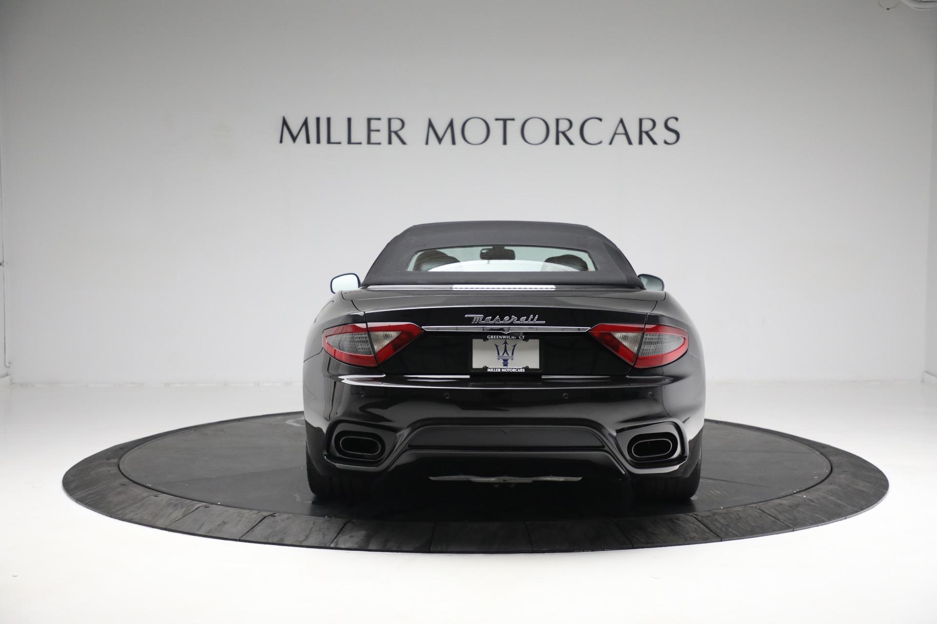 New 2018 Maserati GranTurismo Sport Convertible For Sale In Greenwich, CT 1863_p18