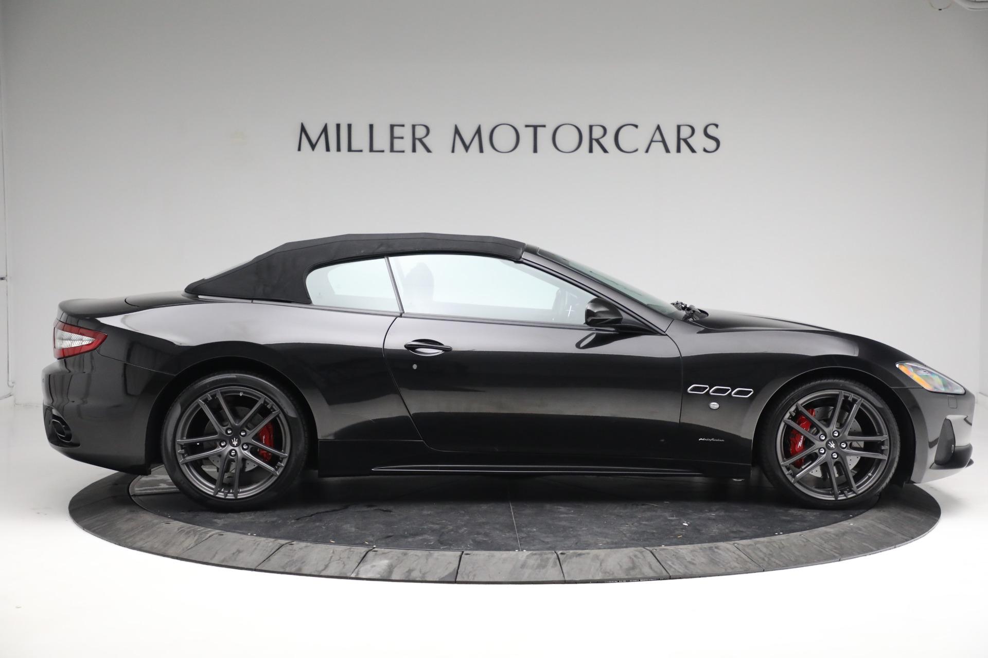 New 2018 Maserati GranTurismo Sport Convertible For Sale In Greenwich, CT 1863_p21