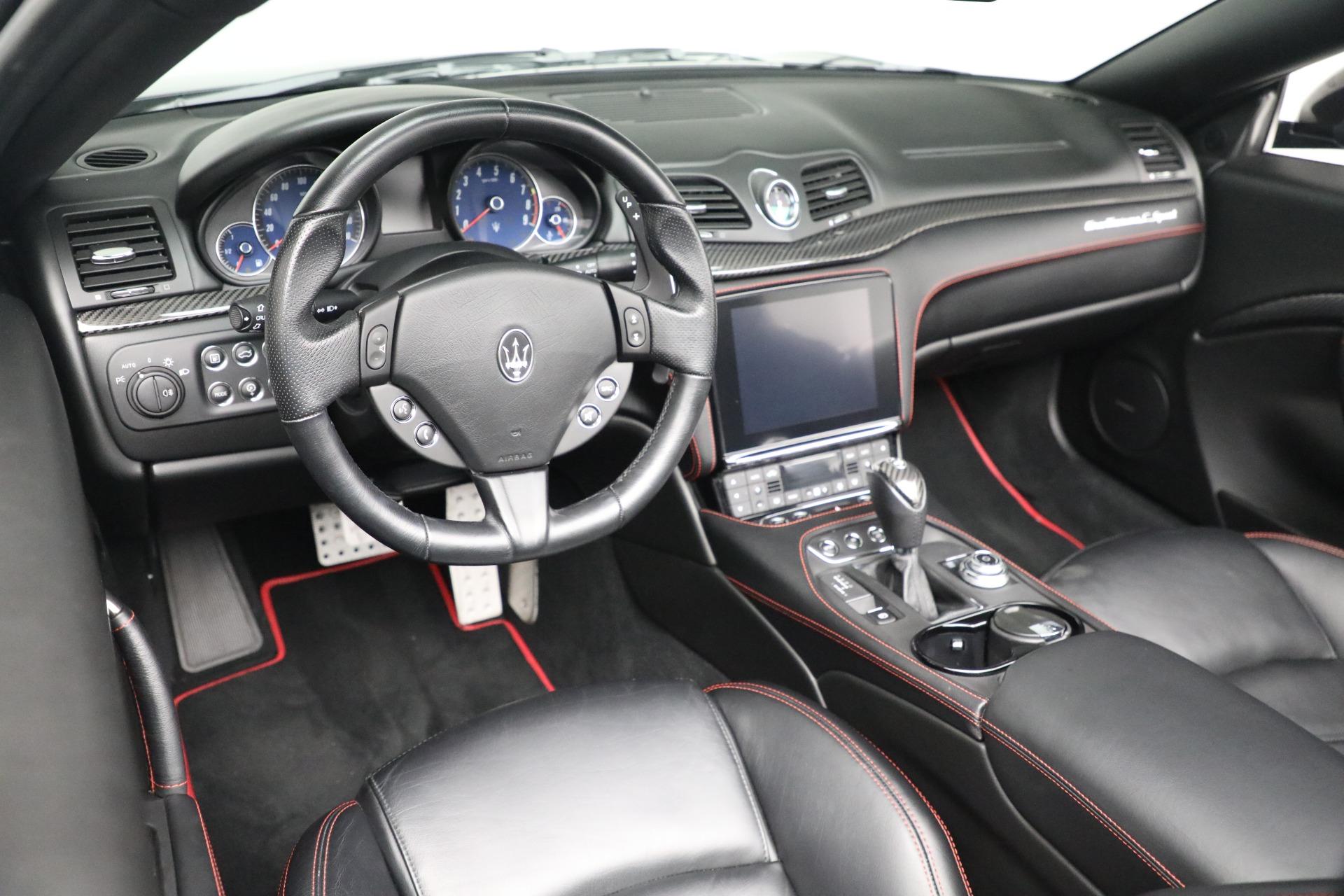 New 2018 Maserati GranTurismo Sport Convertible For Sale In Greenwich, CT 1863_p26