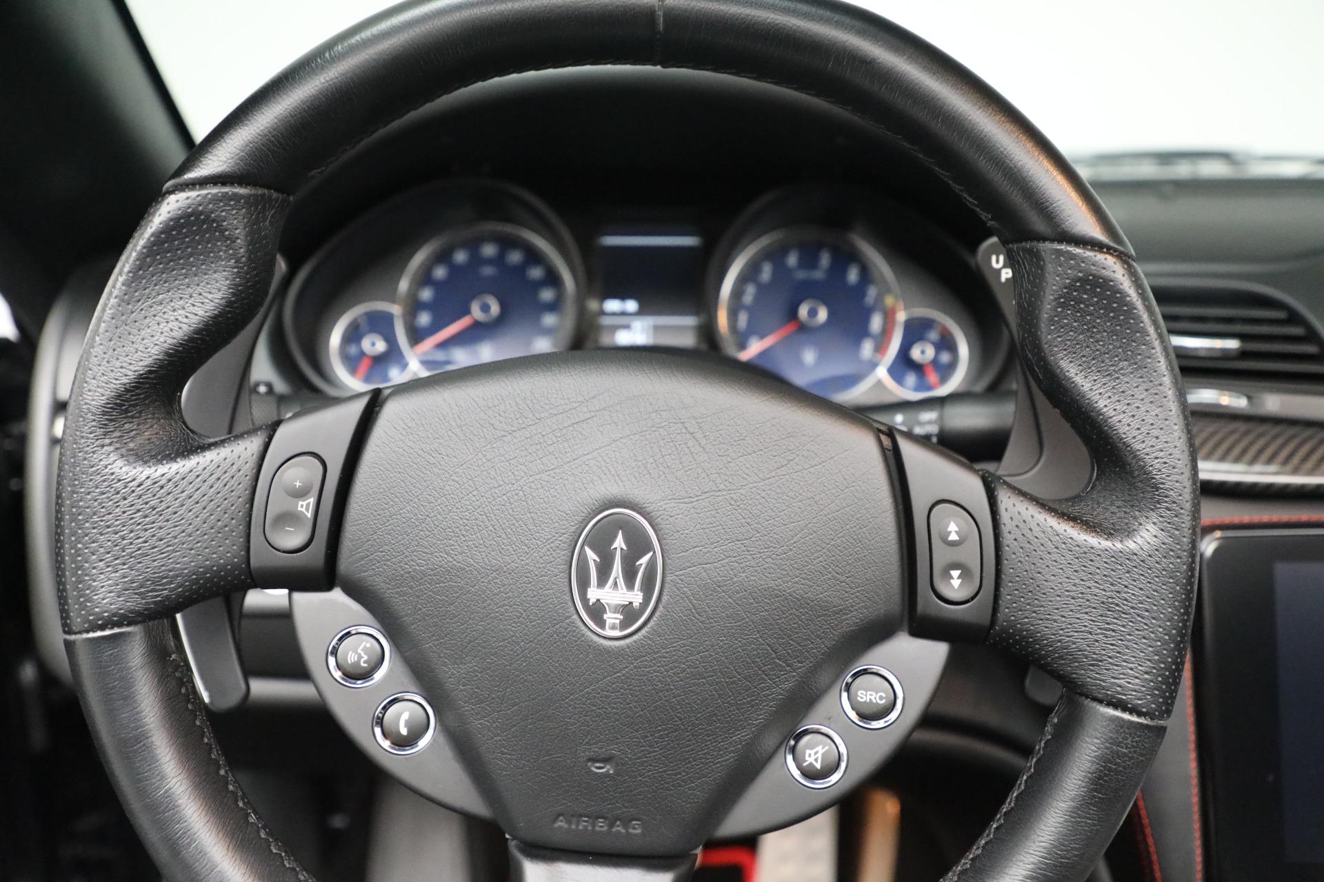 New 2018 Maserati GranTurismo Sport Convertible For Sale In Greenwich, CT 1863_p29