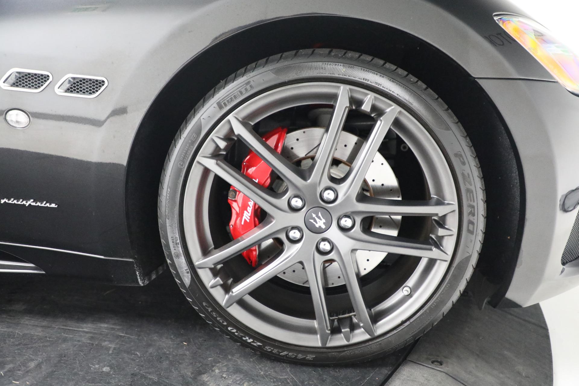 New 2018 Maserati GranTurismo Sport Convertible For Sale In Greenwich, CT 1863_p30