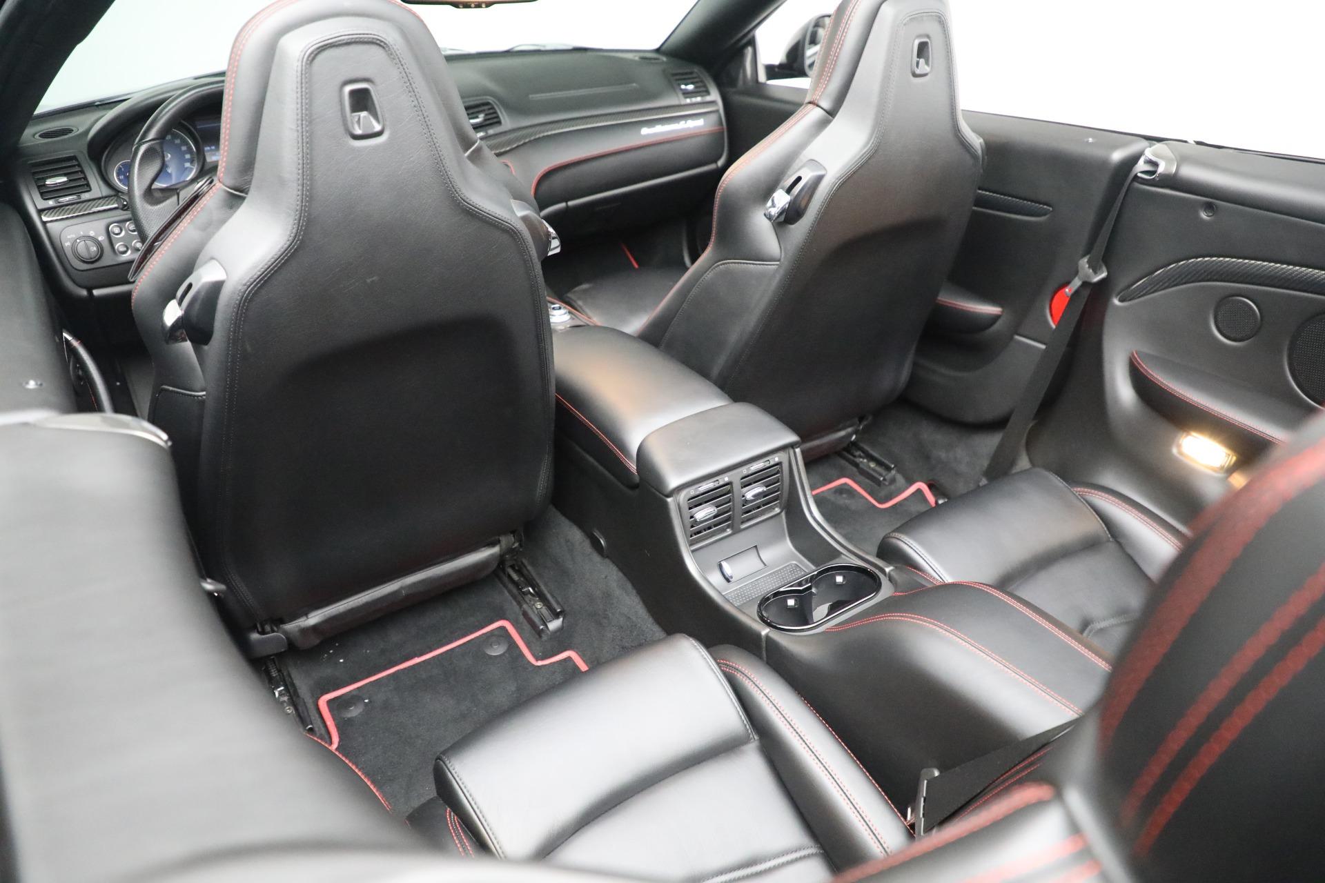 New 2018 Maserati GranTurismo Sport Convertible For Sale In Greenwich, CT 1863_p31