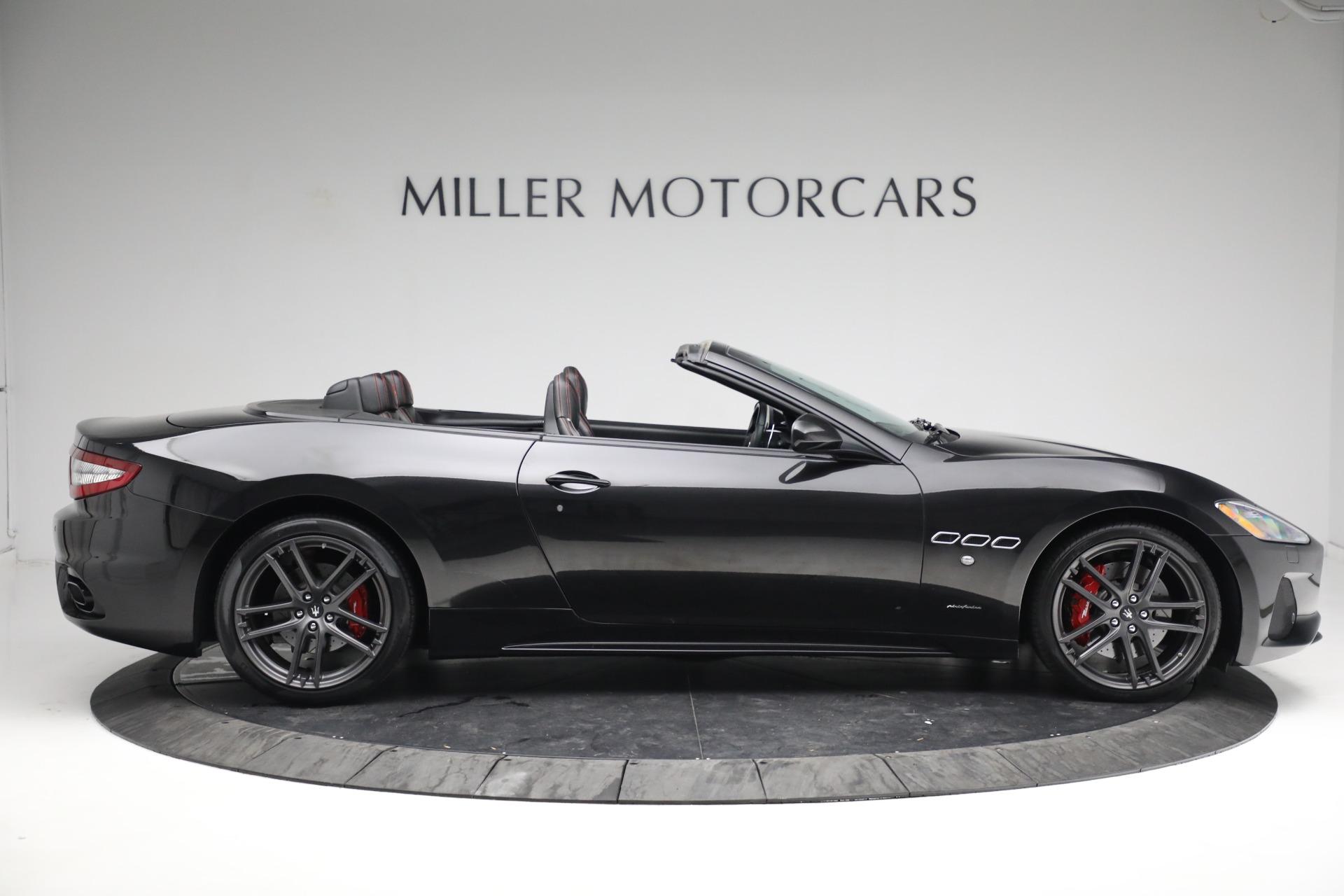 New 2018 Maserati GranTurismo Sport Convertible For Sale In Greenwich, CT 1863_p9