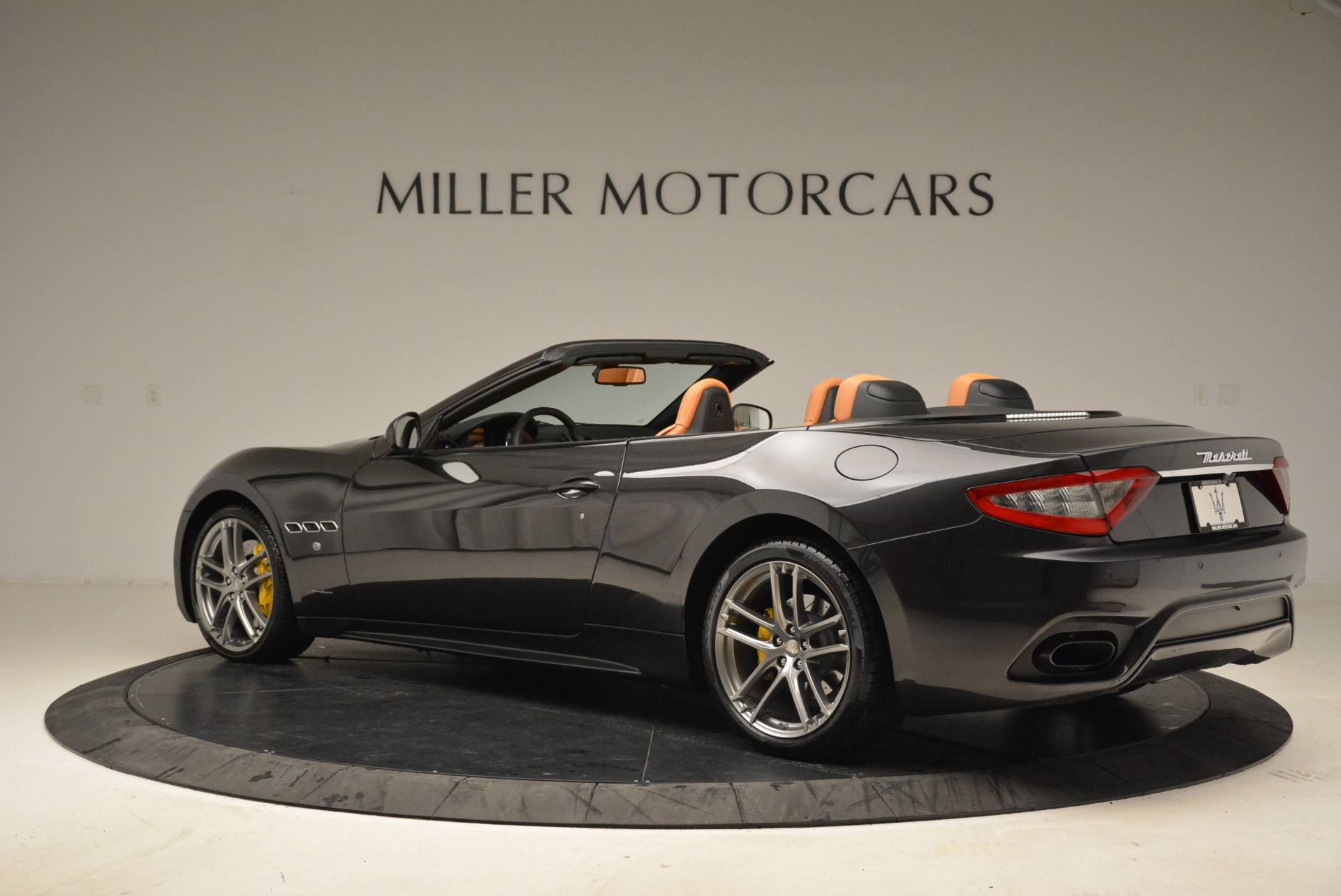 Used 2018 Maserati GranTurismo Sport Convertible For Sale In Greenwich, CT 1865_p3