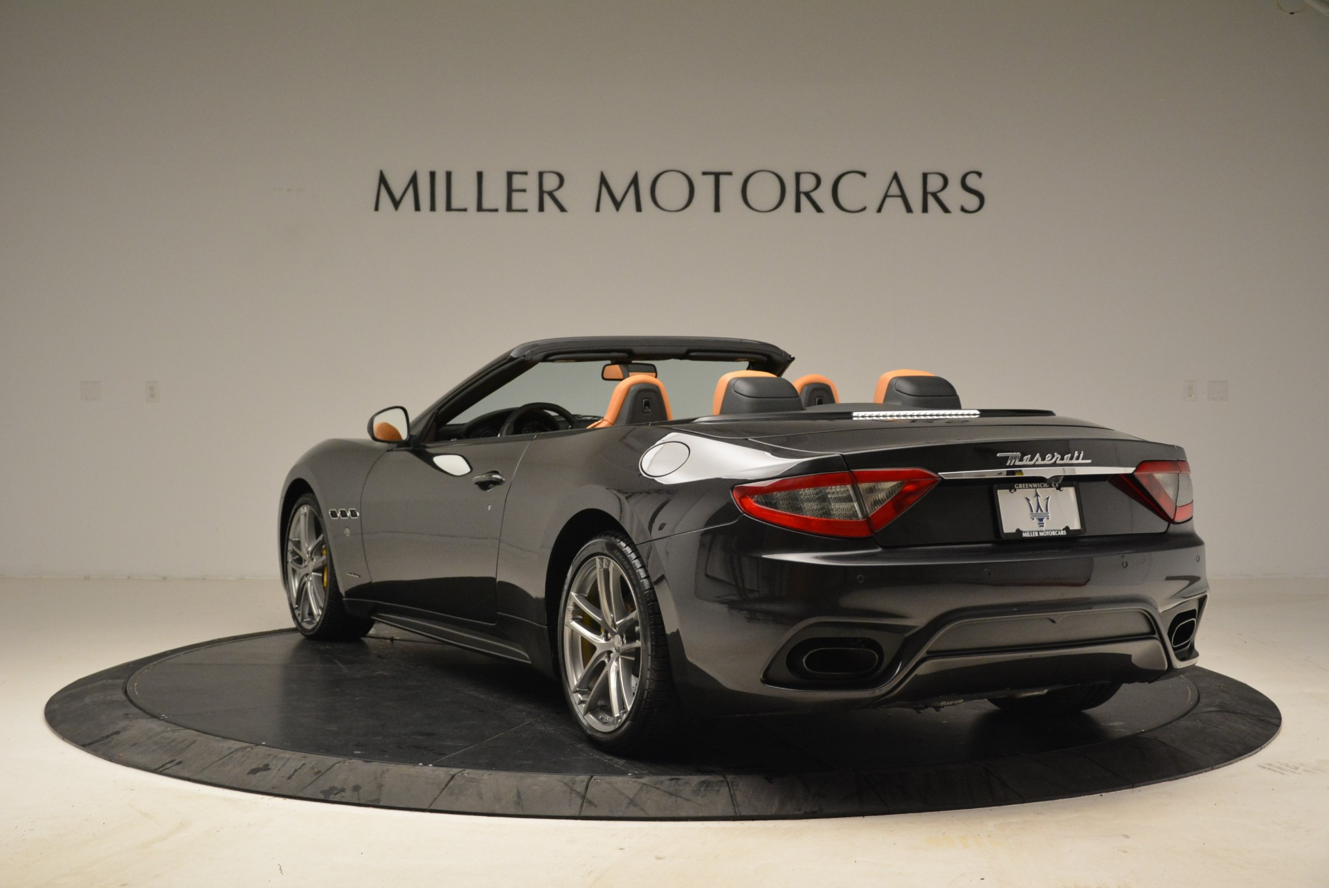 Used 2018 Maserati GranTurismo Sport Convertible For Sale In Greenwich, CT 1865_p4