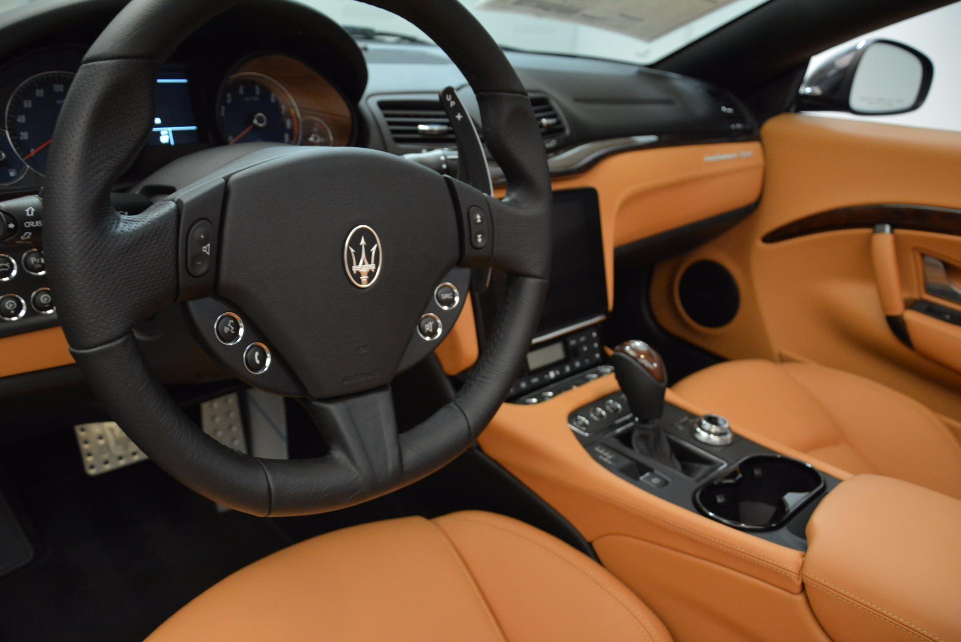 New 2018 Maserati GranTurismo Sport Convertible For Sale In Greenwich, CT 1869_p28