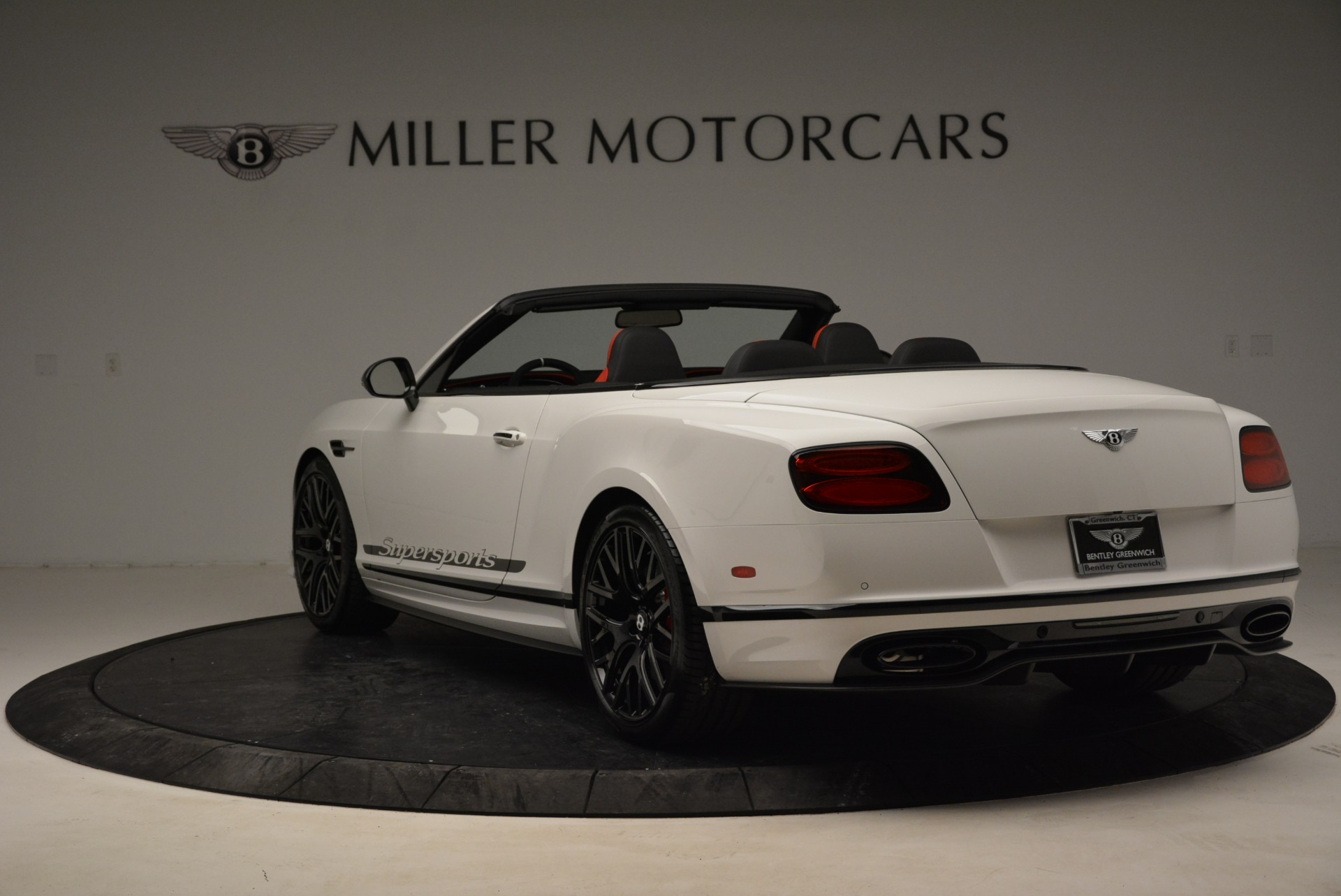 Used 2018 Bentley Continental GT Supersports Convertible For Sale In Greenwich, CT 1875_p5