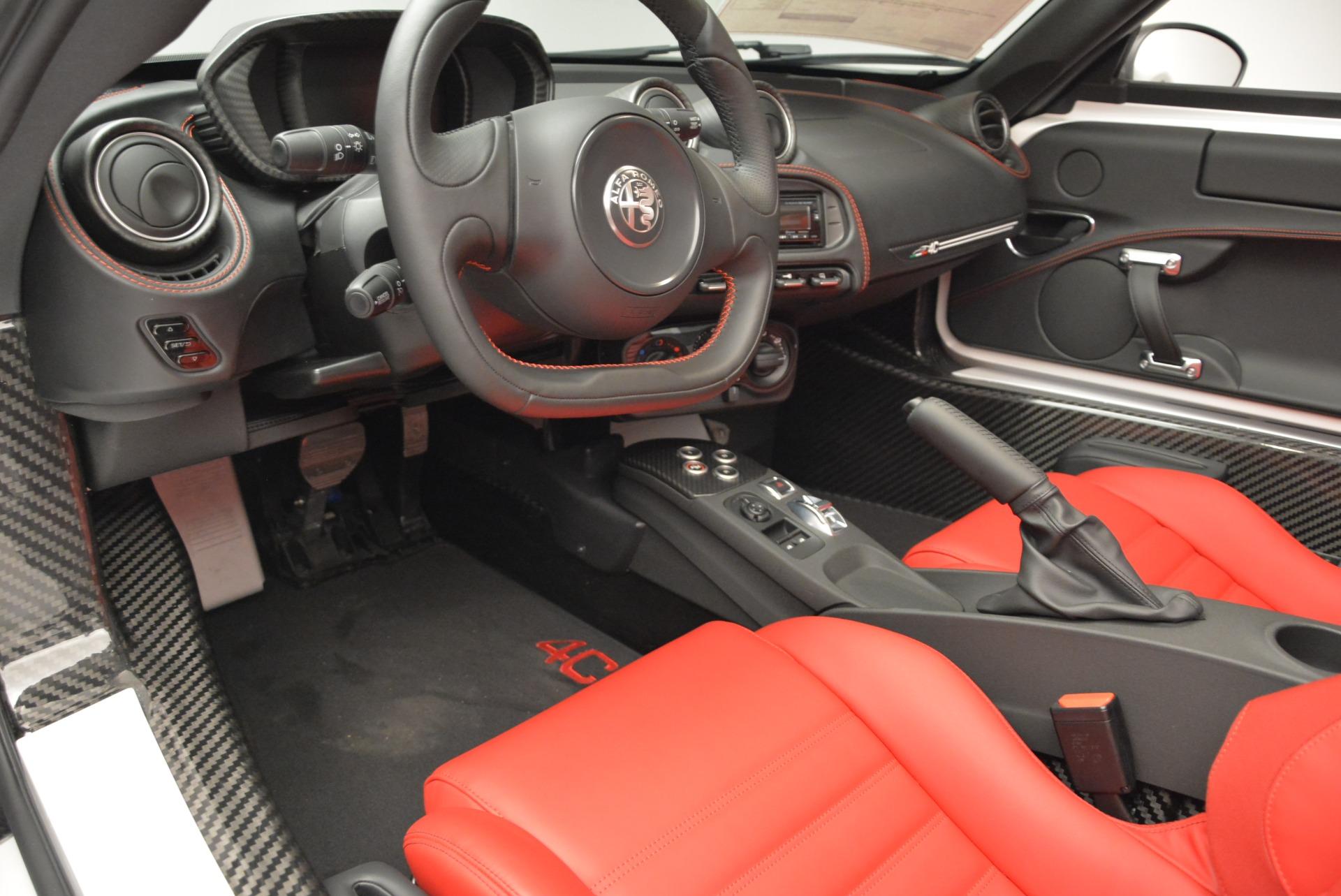New 2018 Alfa Romeo 4C Spider For Sale In Greenwich, CT 1878_p19
