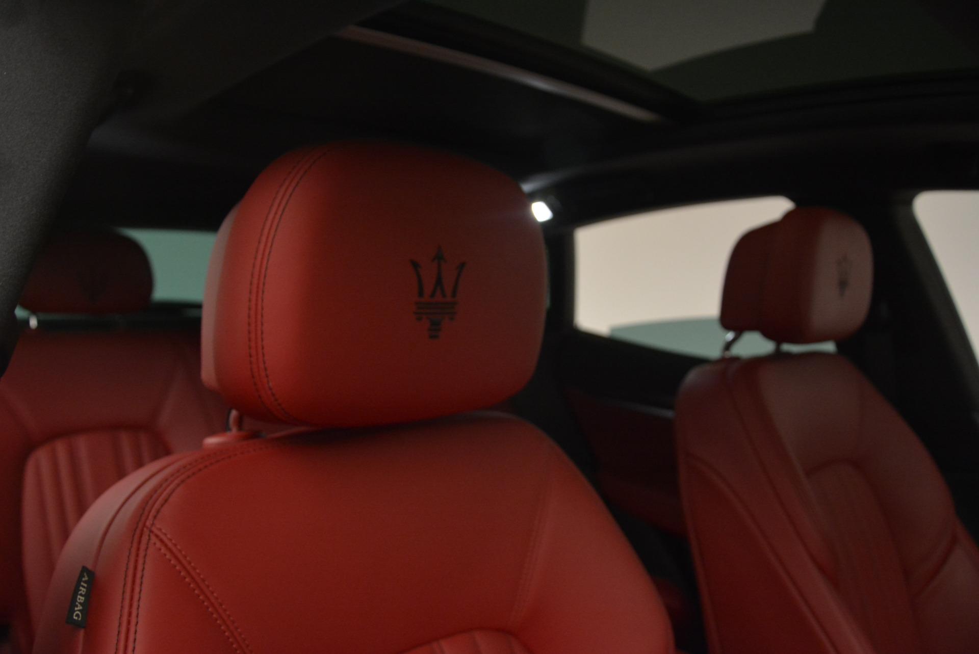 New 2018 Maserati Levante Q4 GranLusso For Sale In Greenwich, CT 1889_p22