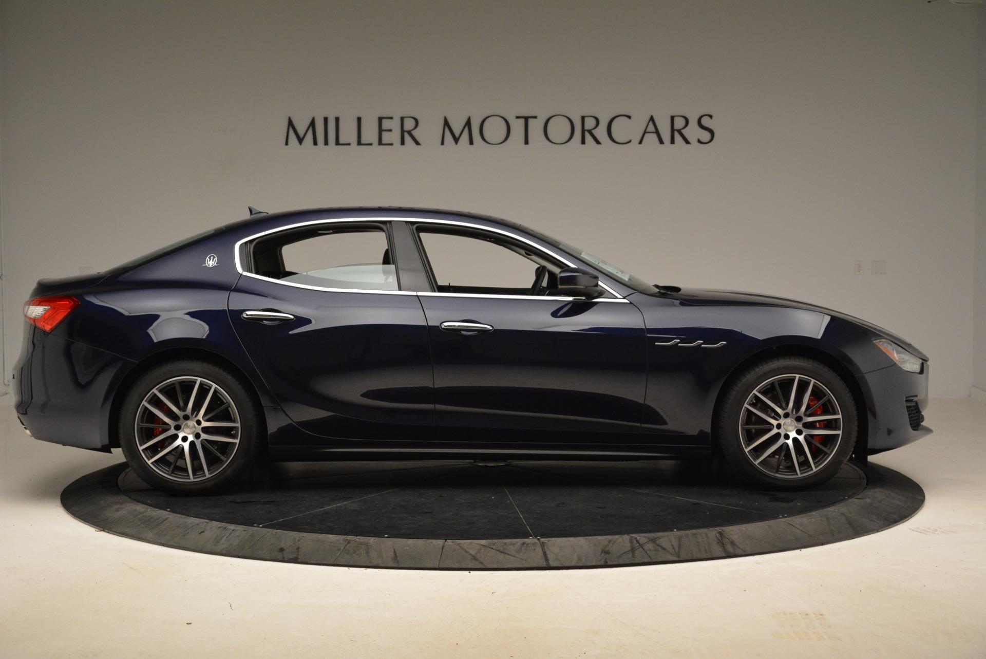 New 2018 Maserati Ghibli S Q4 For Sale In Greenwich, CT 1928_p9