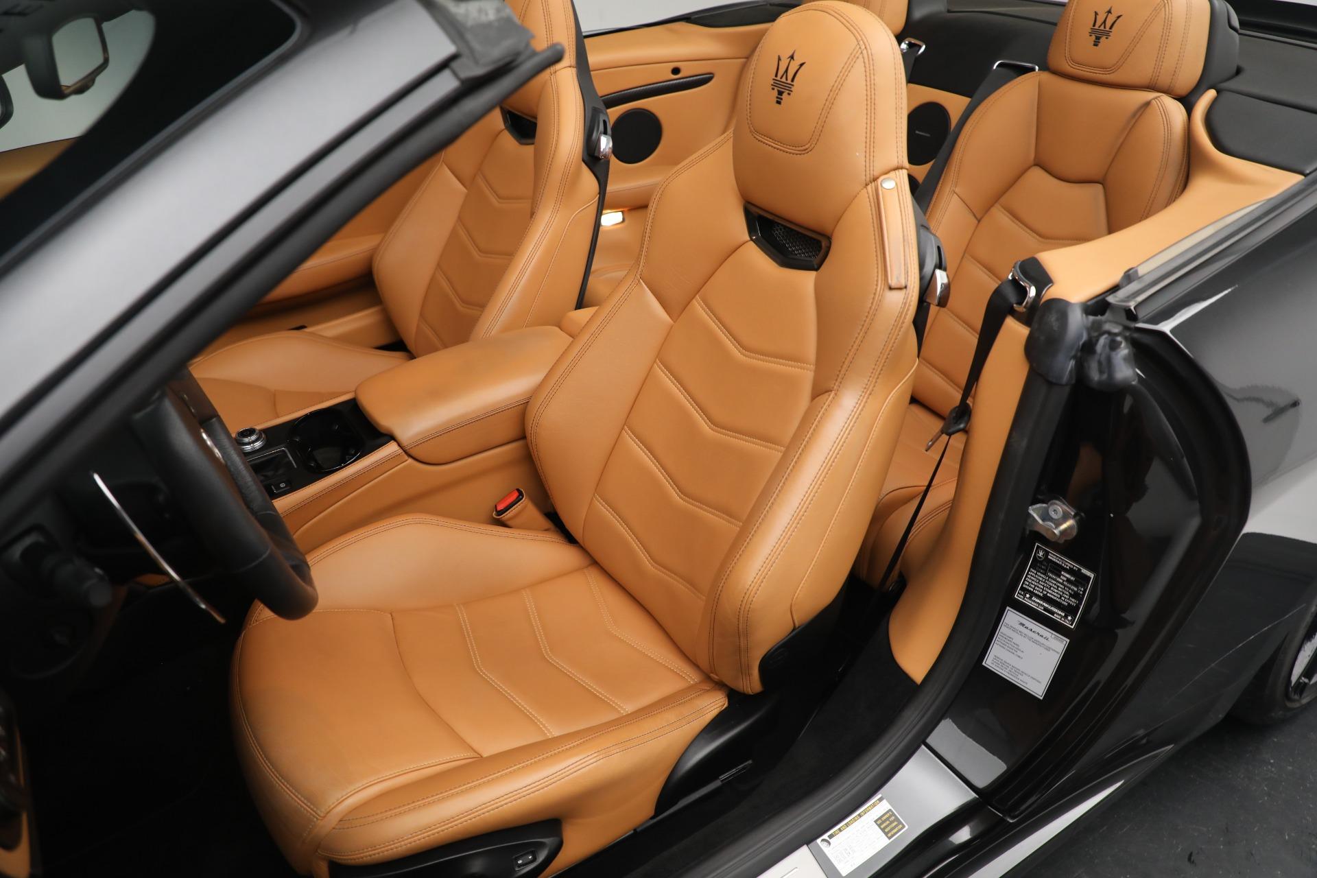 New 2018 Maserati GranTurismo MC Convertible For Sale In Greenwich, CT 1933_p21
