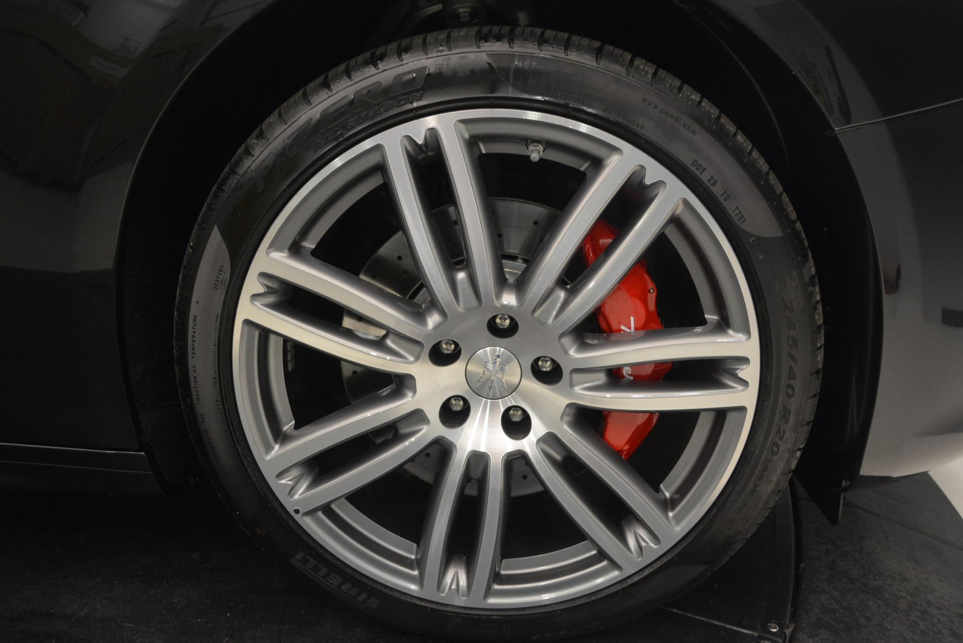 New 2018 Maserati Ghibli S Q4 Gransport For Sale In Greenwich, CT 1936_p25