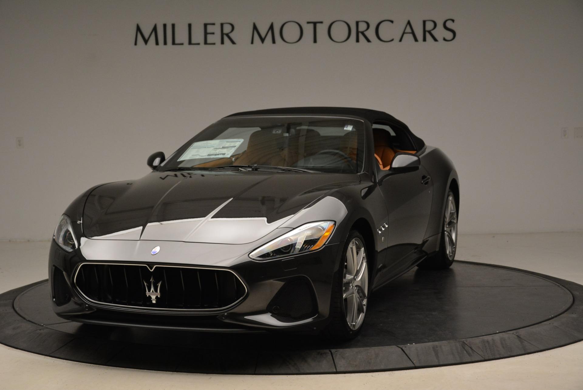 New 2018 Maserati GranTurismo Sport Convertible For Sale In Greenwich, CT 1942_main