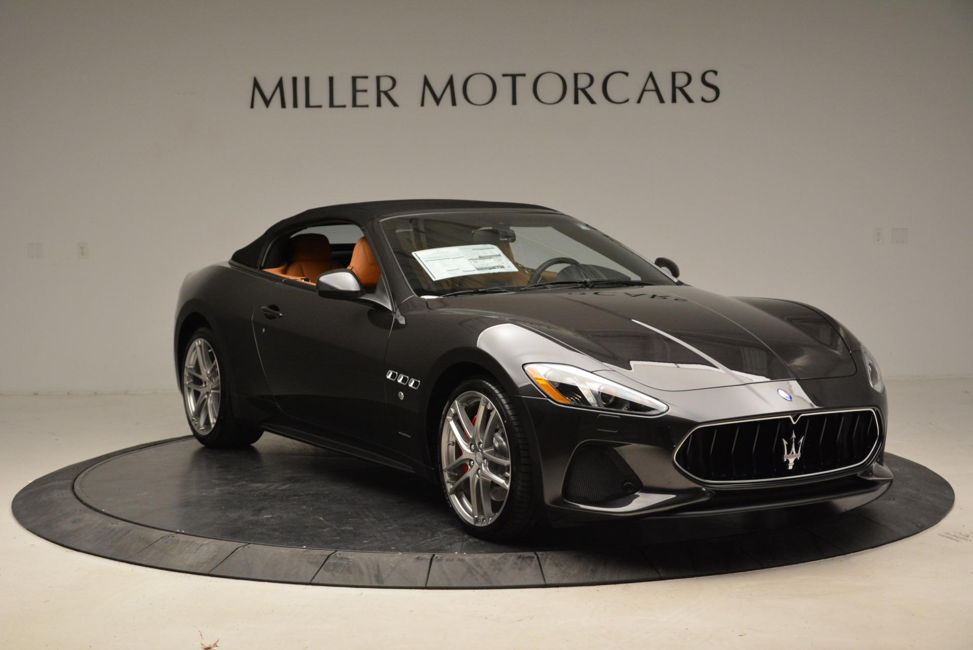 New 2018 Maserati GranTurismo Sport Convertible For Sale In Greenwich, CT 1942_p11
