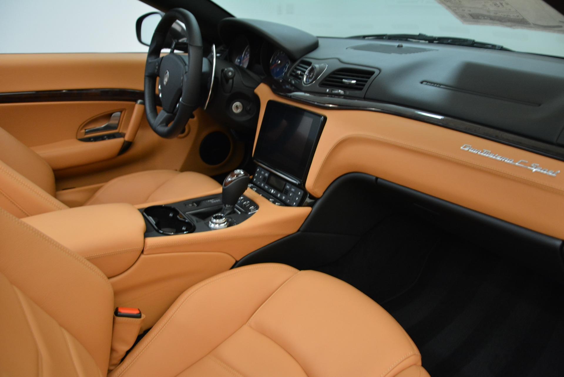New 2018 Maserati GranTurismo Sport Convertible For Sale In Greenwich, CT 1942_p27