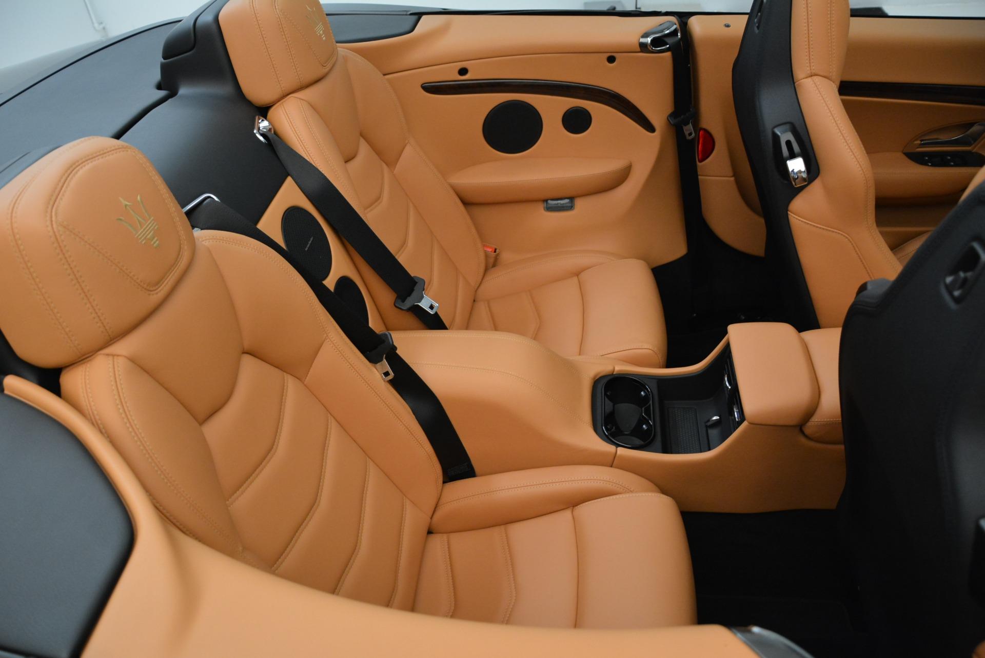 New 2018 Maserati GranTurismo Sport Convertible For Sale In Greenwich, CT 1942_p36
