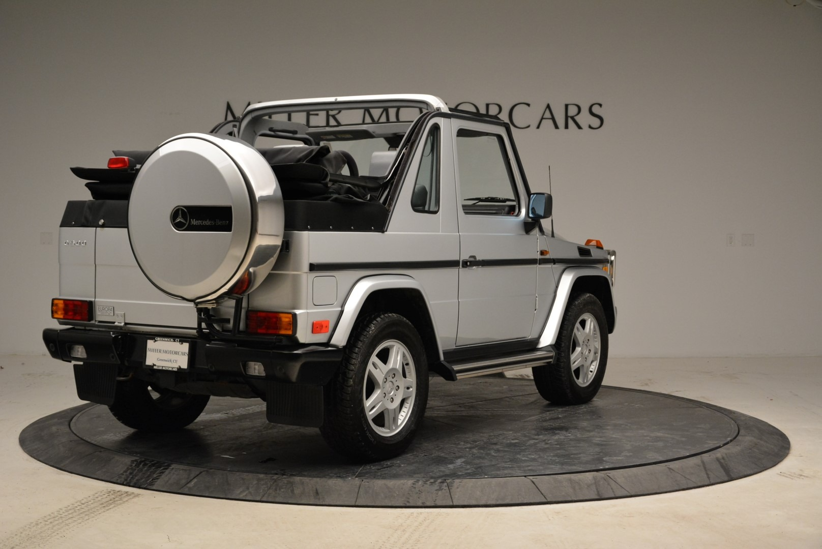Used 1999 Mercedes Benz G500 Cabriolet For Sale In Greenwich, CT 1961_p7