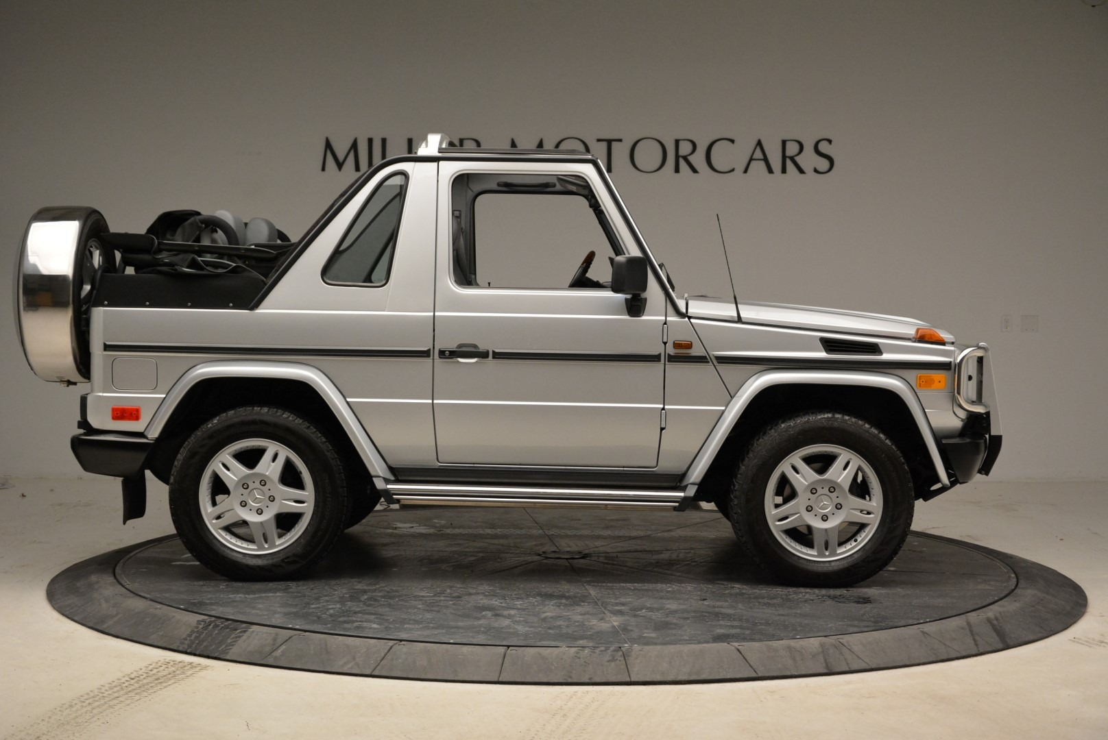 Used 1999 Mercedes Benz G500 Cabriolet For Sale In Greenwich, CT 1961_p9