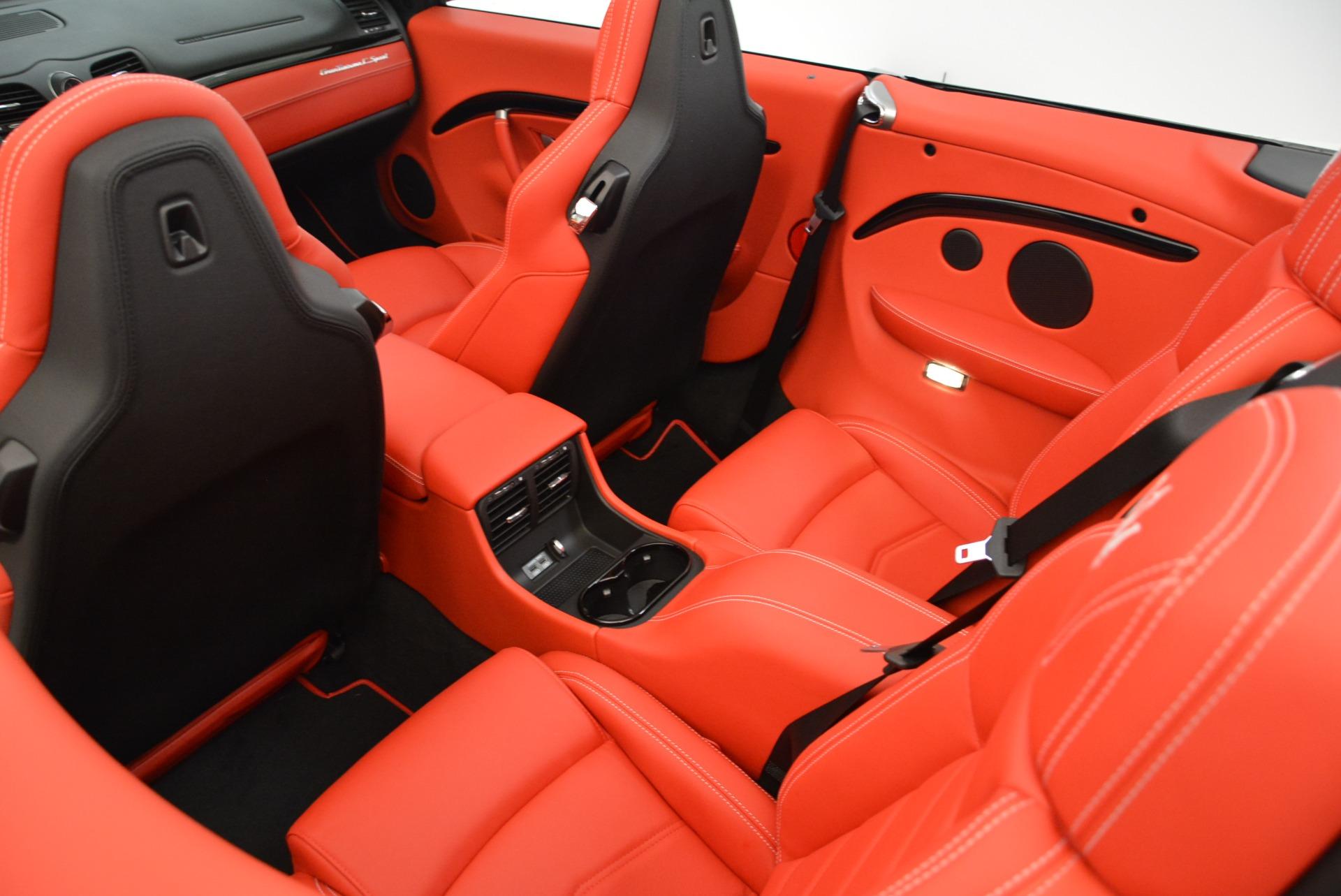 New 2018 Maserati GranTurismo Sport Convertible For Sale In Greenwich, CT 1979_p29