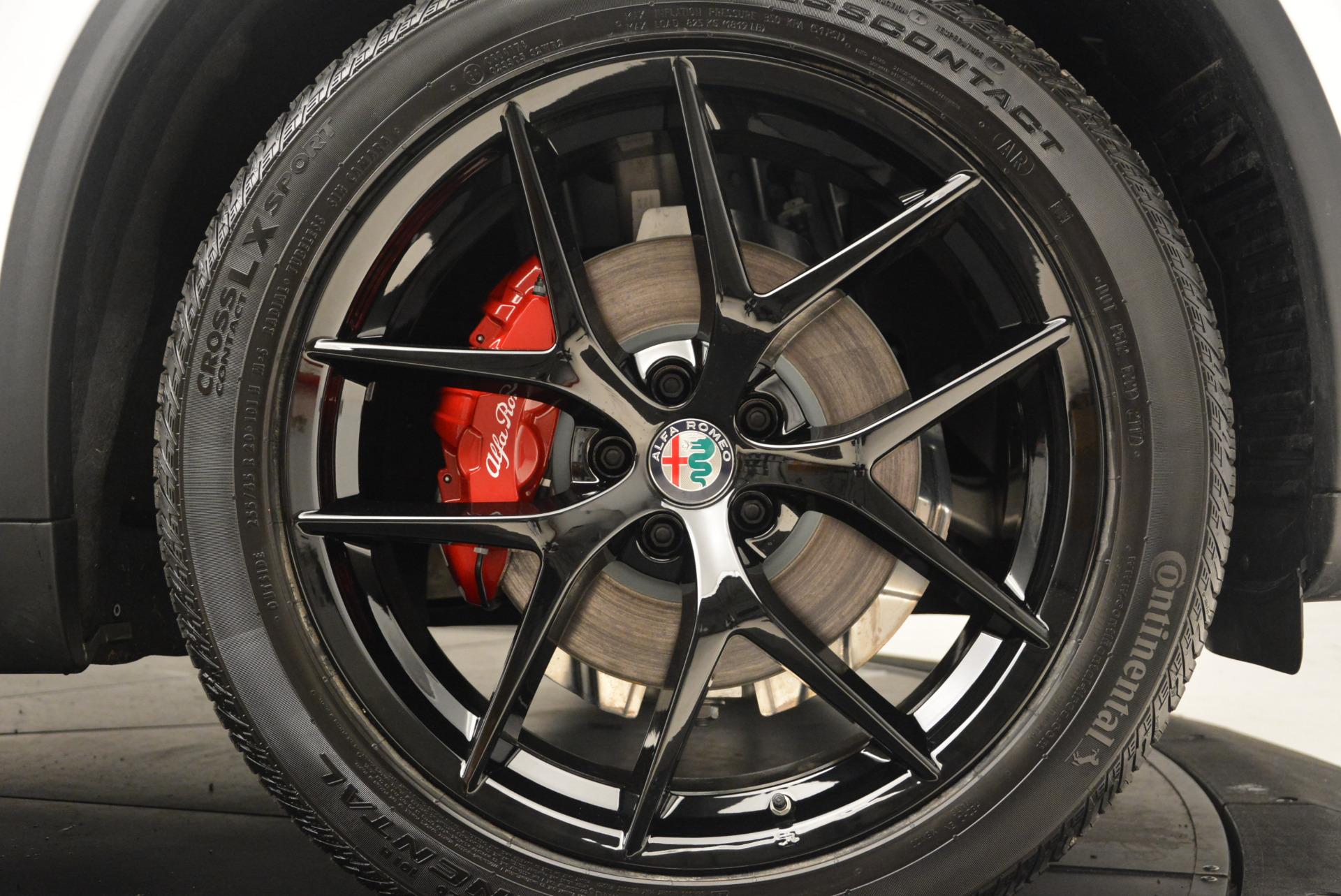 New 2018 Alfa Romeo Stelvio Ti Sport Q4 For Sale In Greenwich, CT 1991_p25