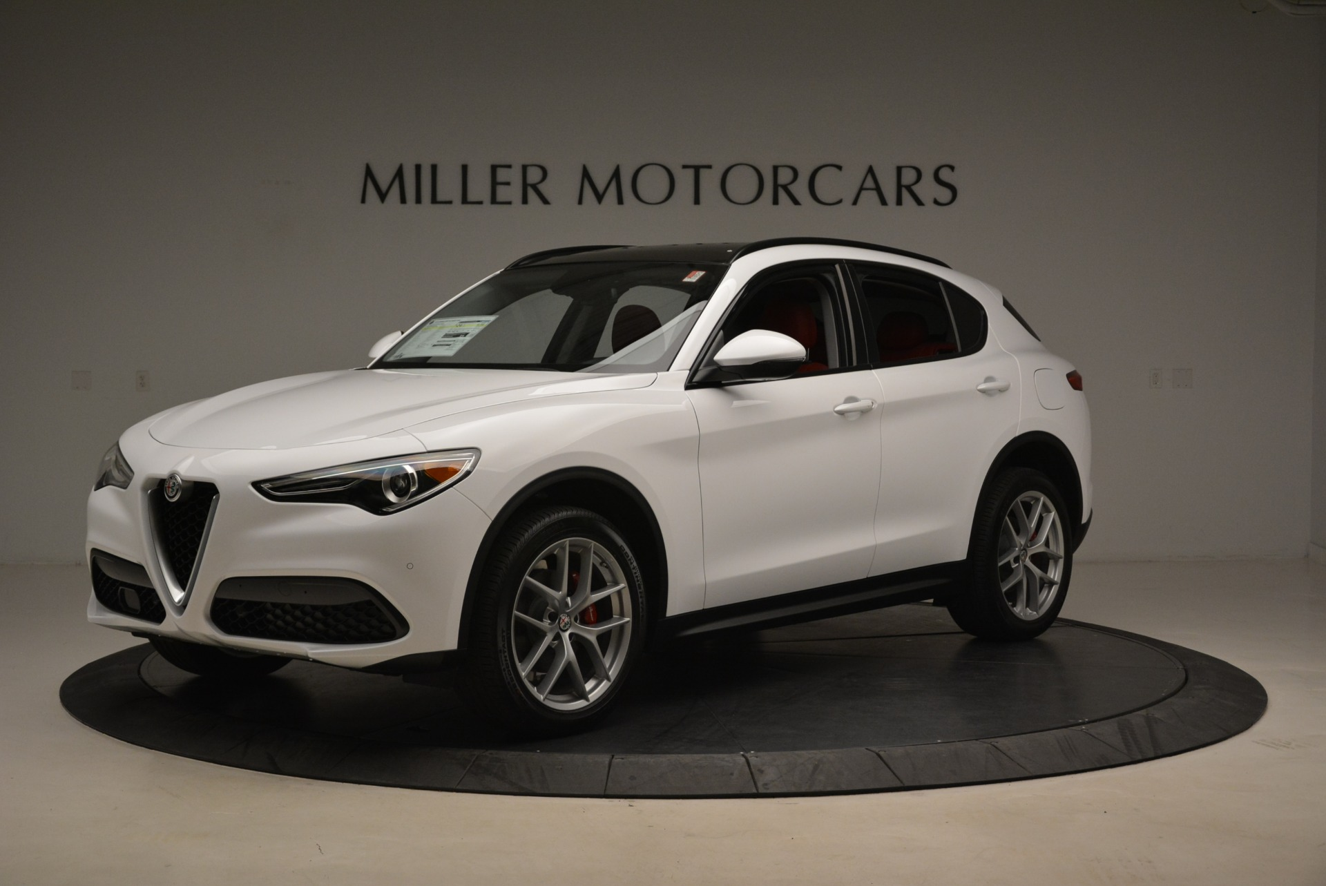 New 2018 Alfa Romeo Stelvio Ti Sport Q4 For Sale In Greenwich, CT 2008_p2
