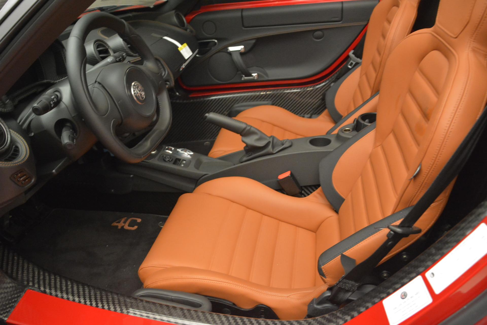 New 2018 Alfa Romeo 4C Spider For Sale In Greenwich, CT 2010_p19