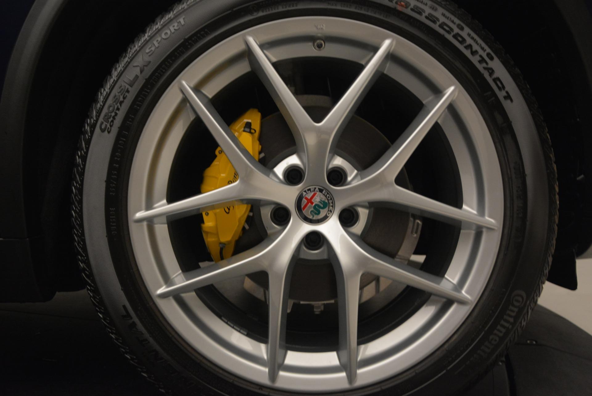New 2018 Alfa Romeo Stelvio Ti Sport Q4 For Sale In Greenwich, CT 2012_p13
