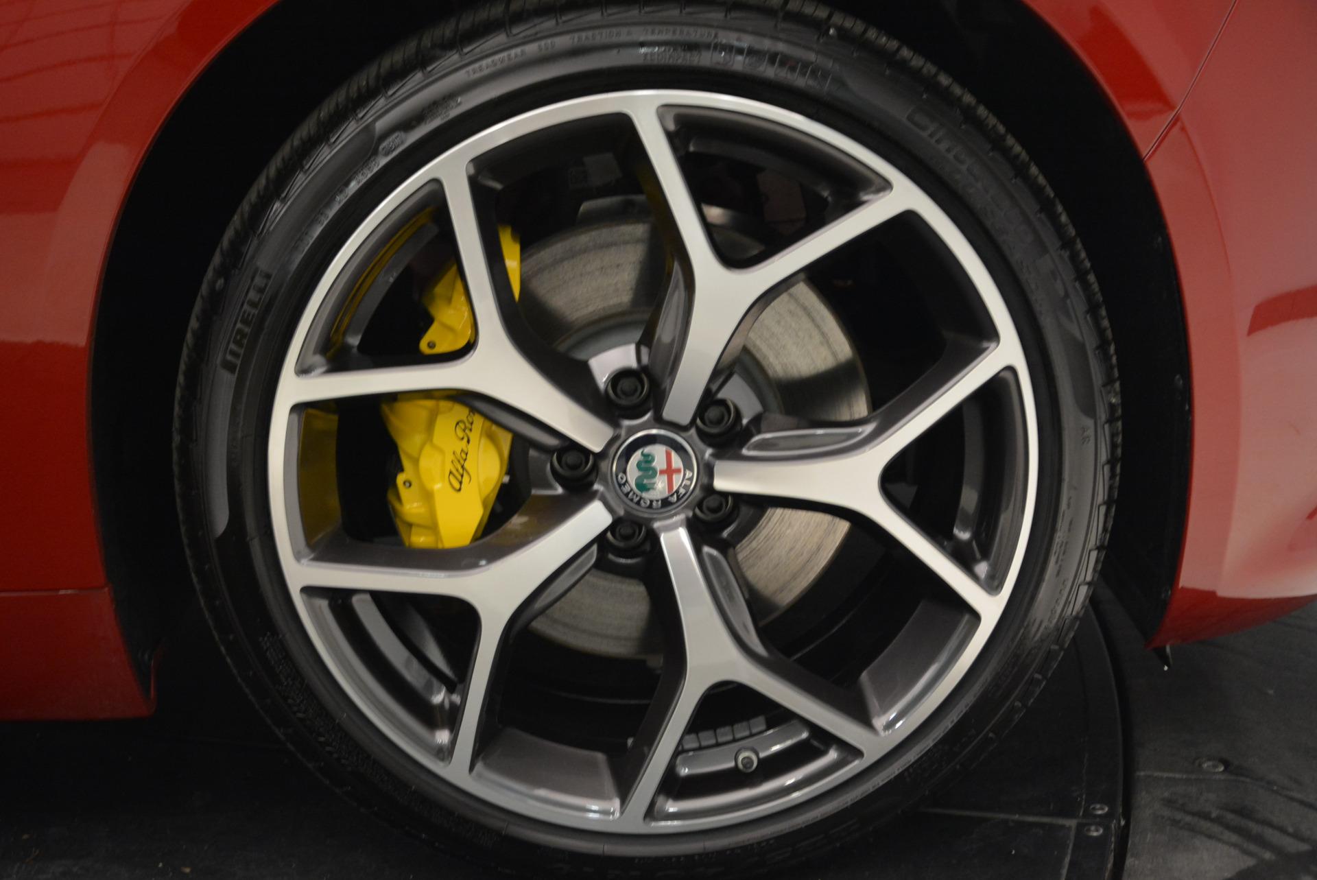 New 2018 Alfa Romeo Giulia Ti Sport Q4 For Sale In Greenwich, CT 2016_p25
