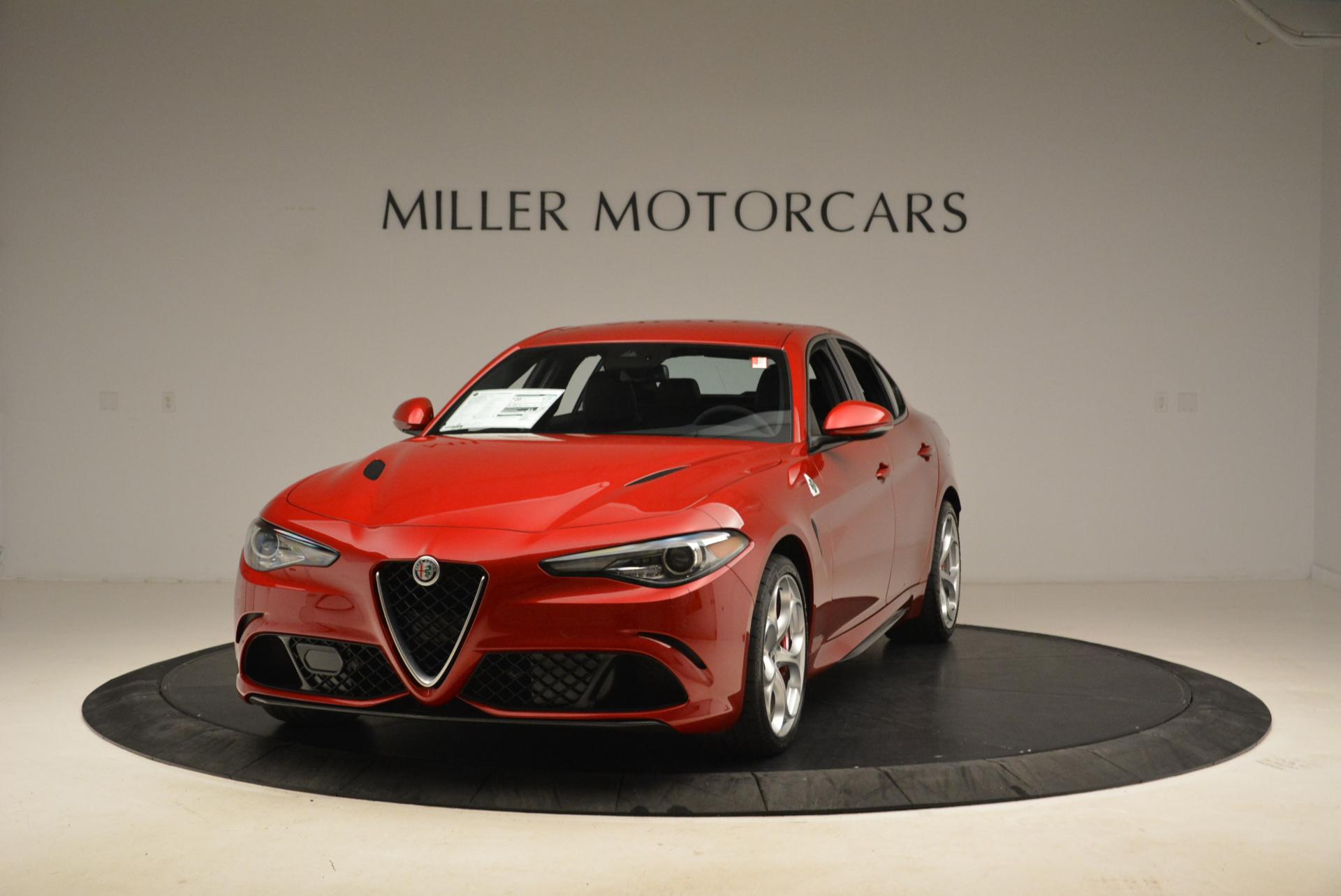New 2018 Alfa Romeo Giulia Quadrifoglio For Sale In Greenwich, CT 2020_main
