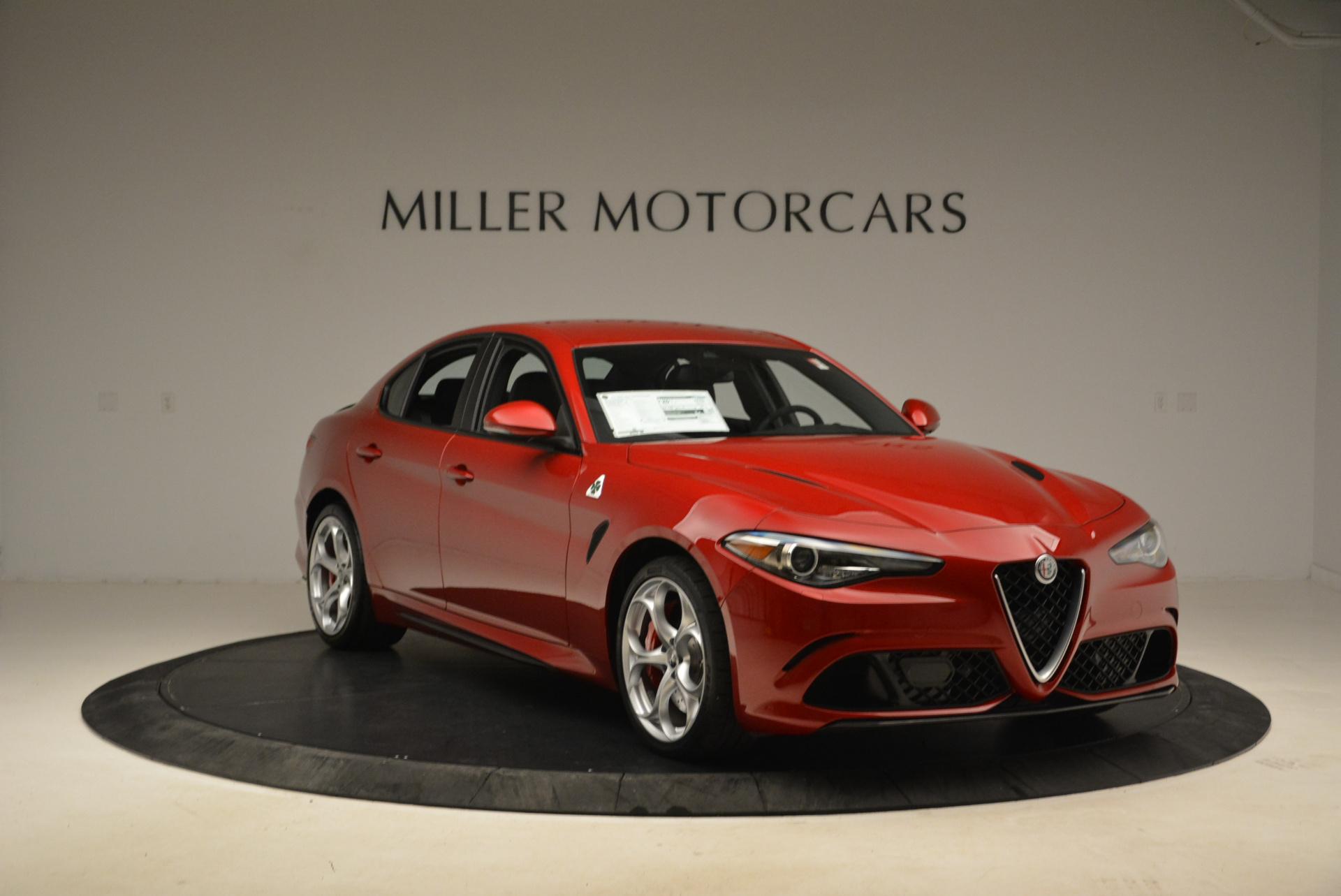 New 2018 Alfa Romeo Giulia Quadrifoglio For Sale In Greenwich, CT 2020_p11