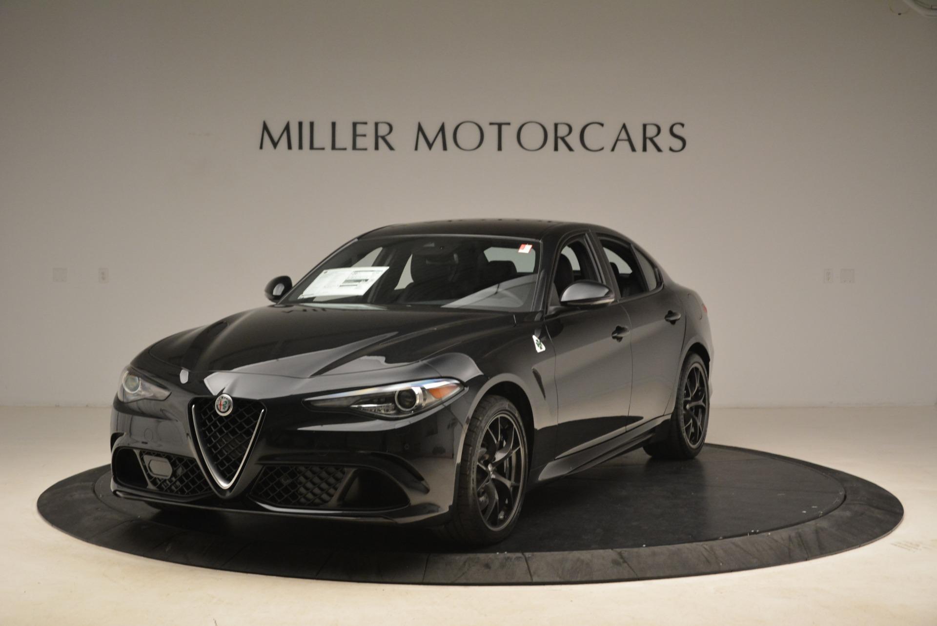 New 2018 Alfa Romeo Giulia Quadrifoglio For Sale In Greenwich, CT 2022_main