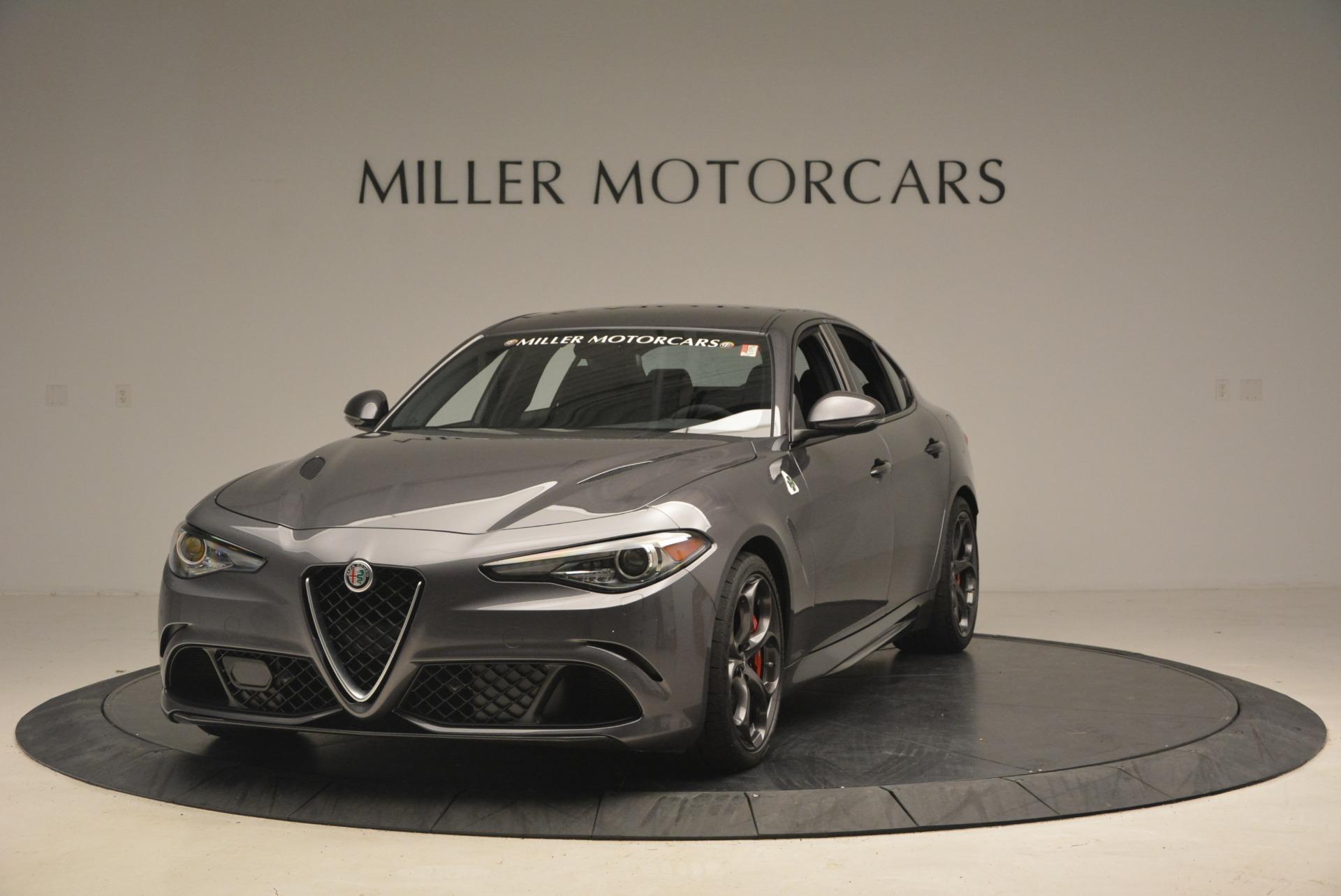 New 2018 Alfa Romeo Giulia Quadrifoglio For Sale In Greenwich, CT 2024_main