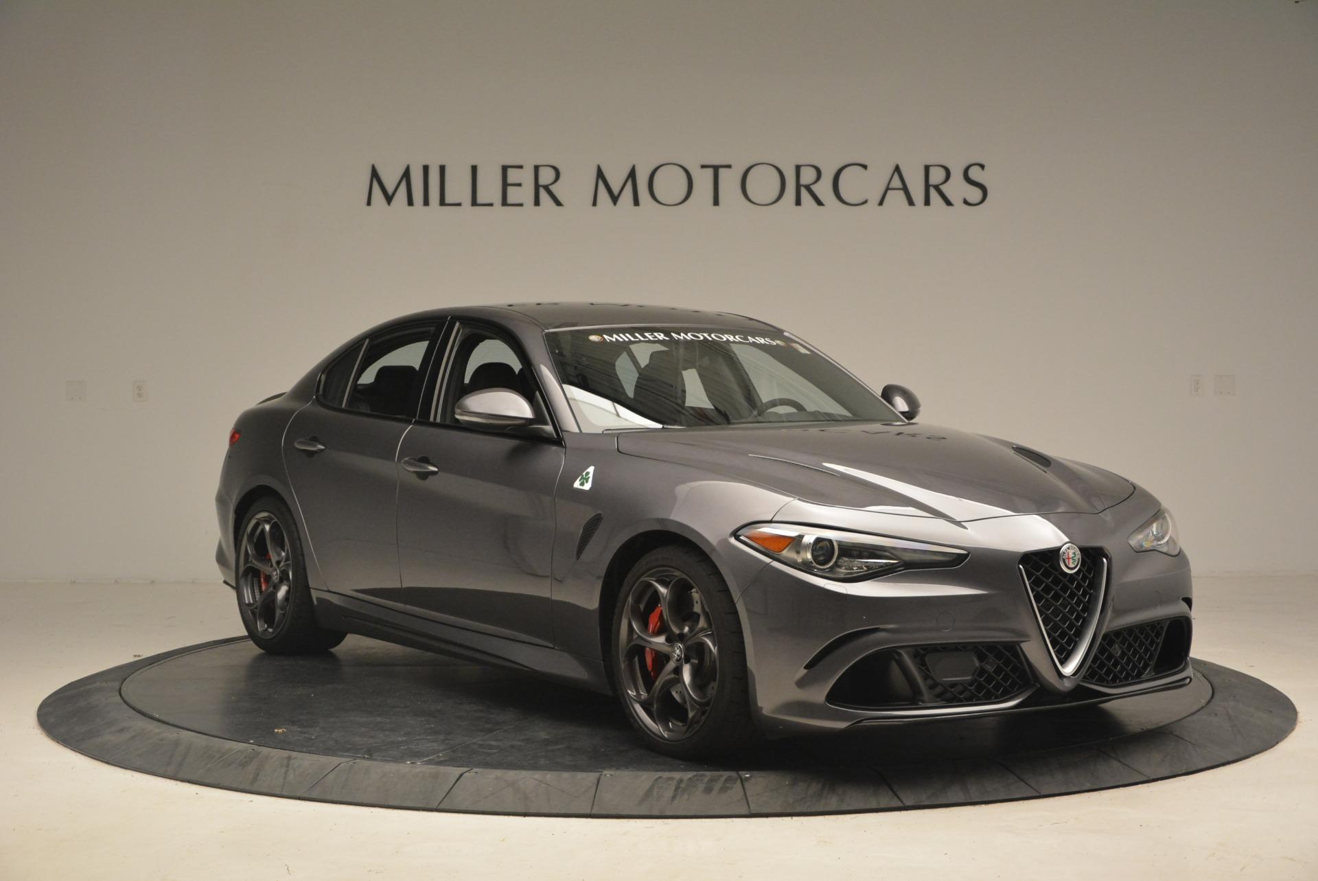New 2018 Alfa Romeo Giulia Quadrifoglio For Sale In Greenwich, CT 2024_p11