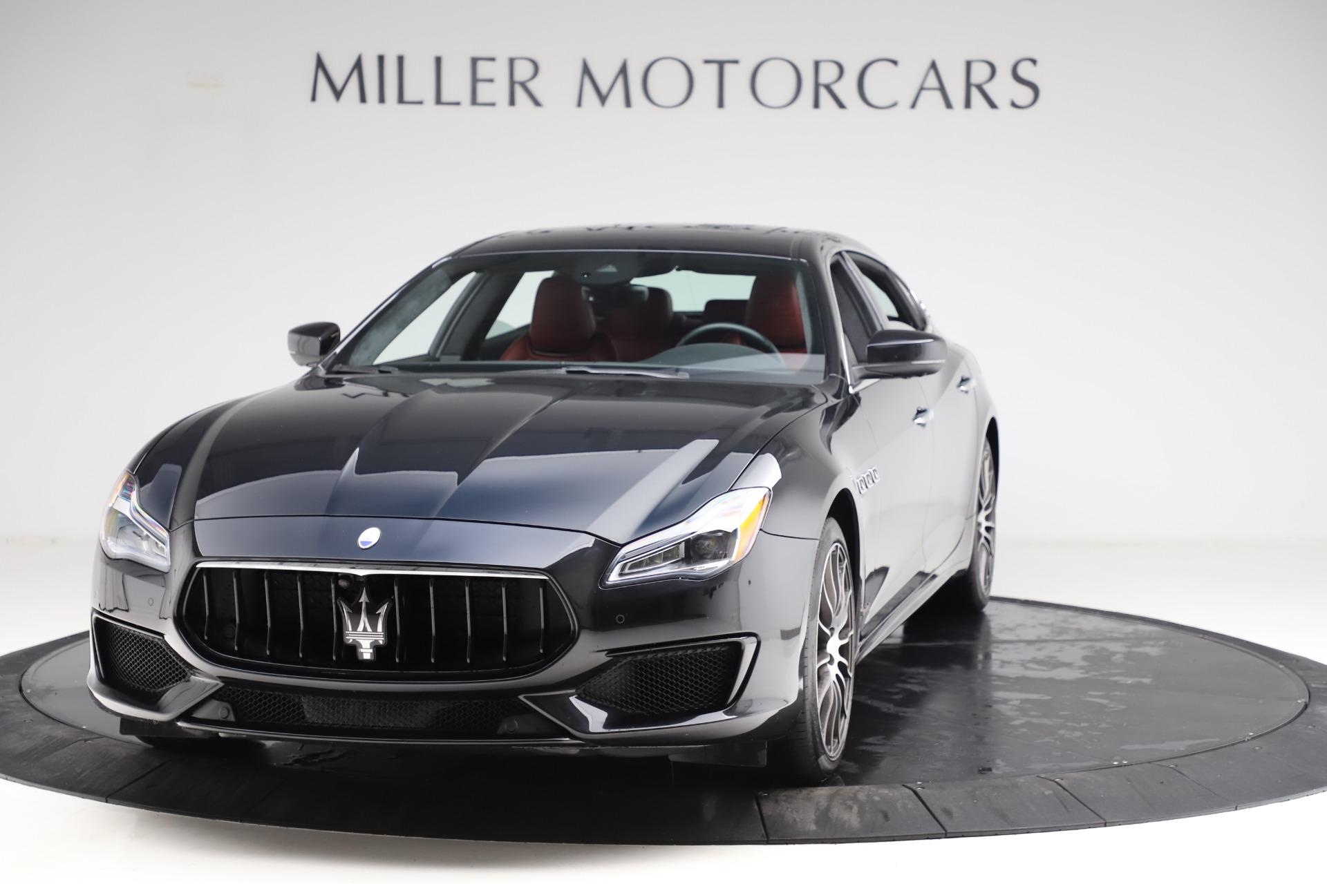 New 2018 Maserati Quattroporte S Q4 GranSport For Sale In Greenwich, CT 2029_main