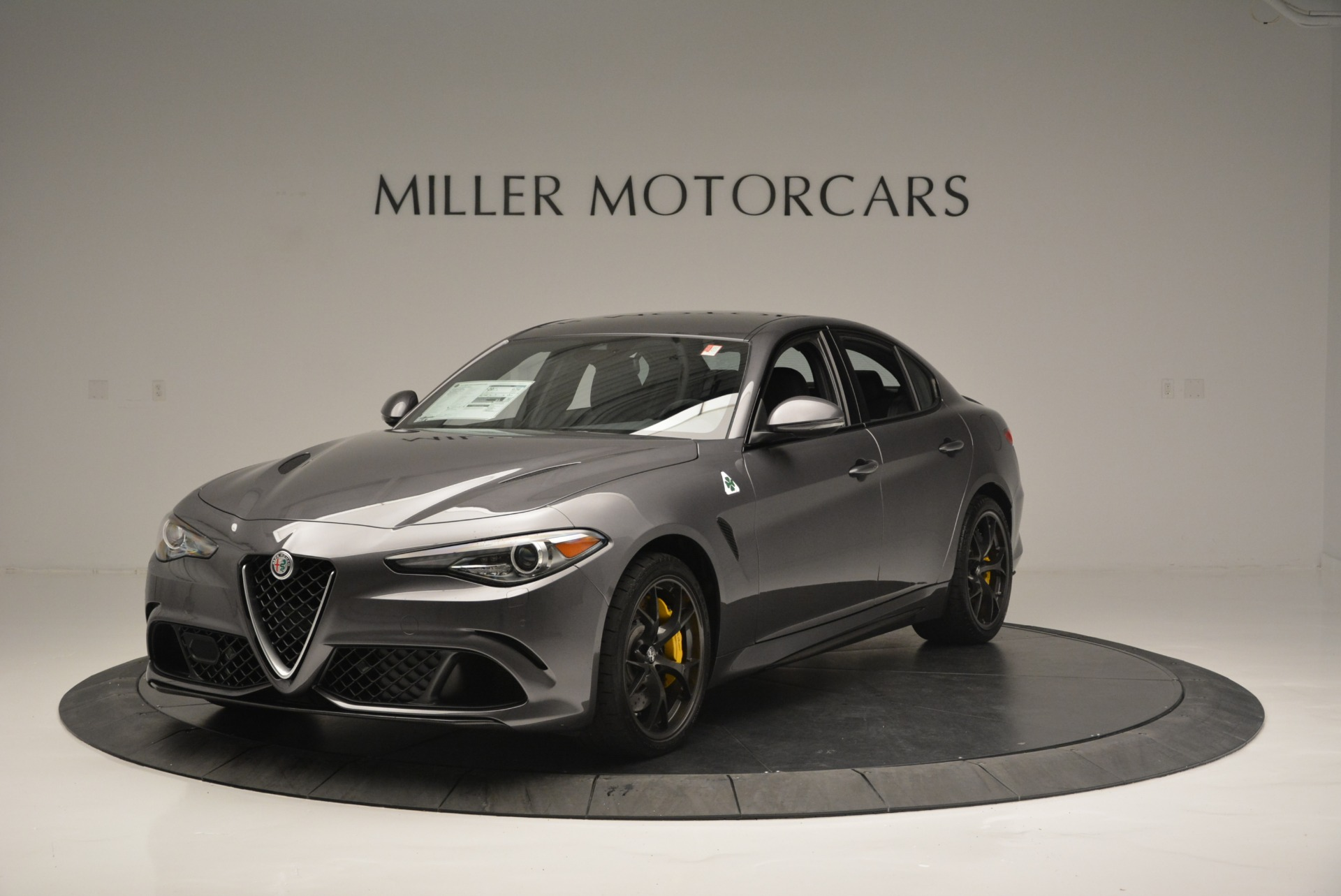 New 2018 Alfa Romeo Giulia Quadrifoglio For Sale In Greenwich, CT 2032_main