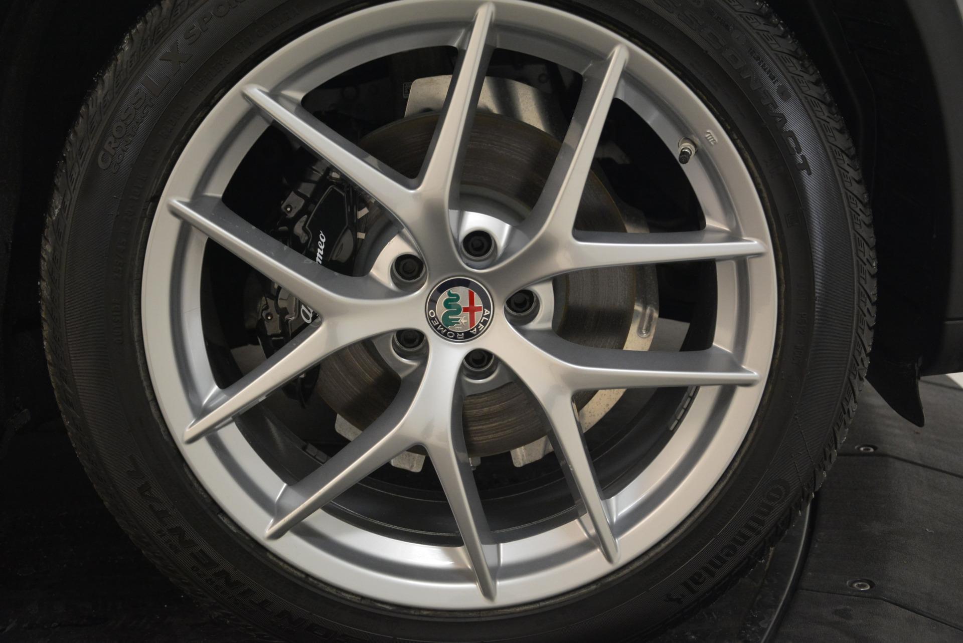 New 2018 Alfa Romeo Stelvio Ti Sport Q4 For Sale In Greenwich, CT 2040_p25