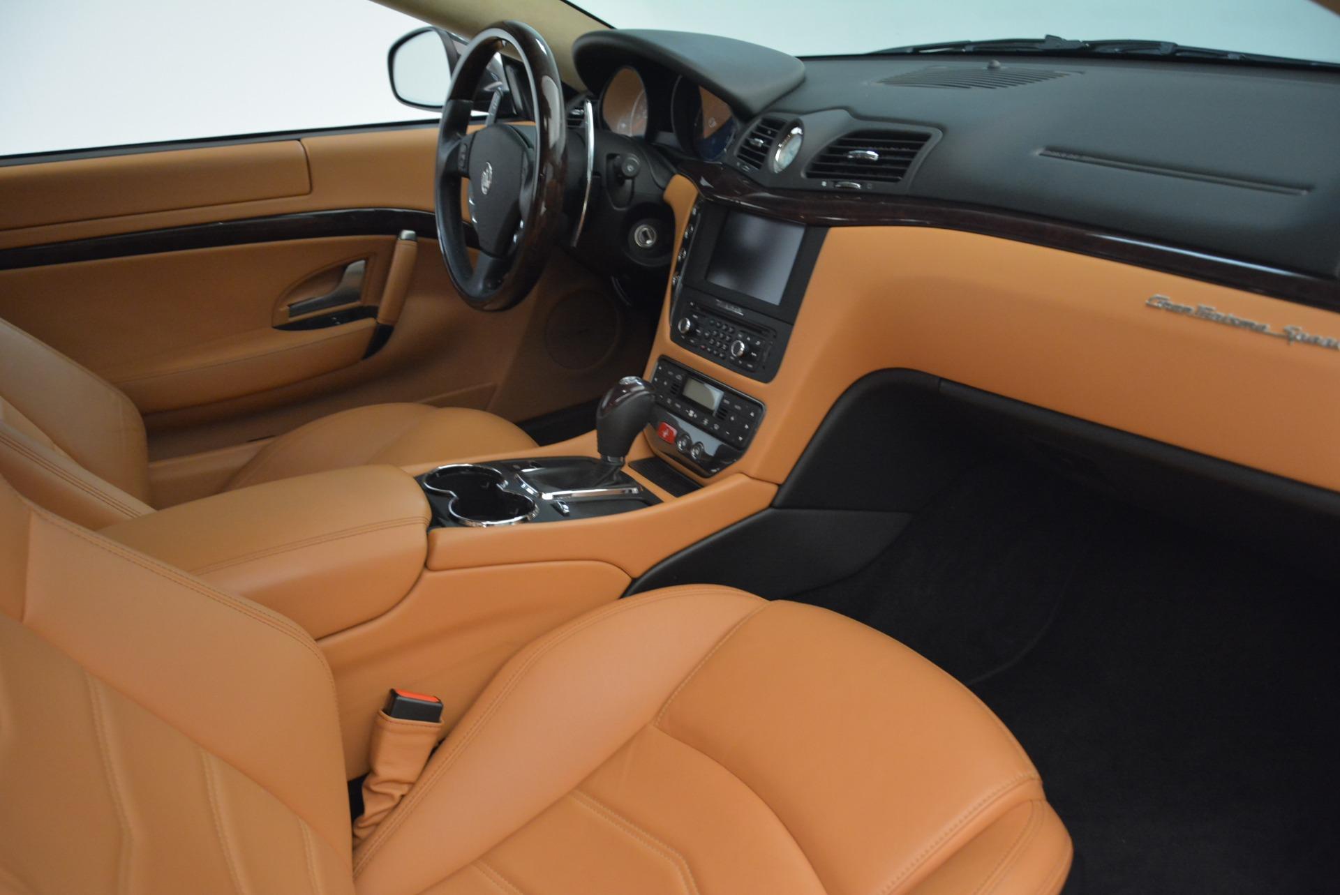 Used 2014 Maserati GranTurismo Sport For Sale In Greenwich, CT 2067_p20