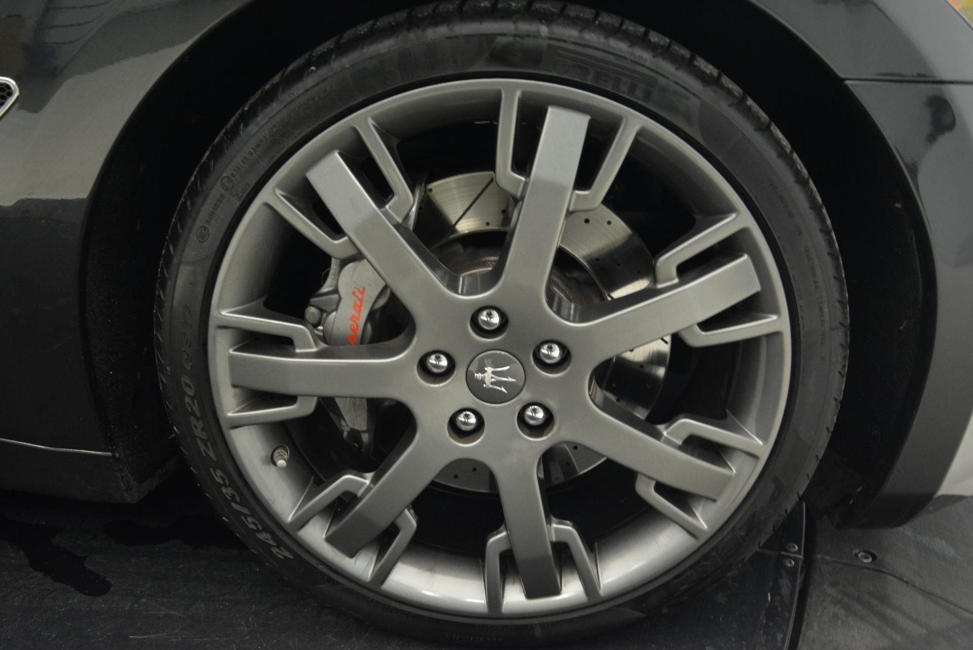 Used 2014 Maserati GranTurismo Sport For Sale In Greenwich, CT 2067_p24